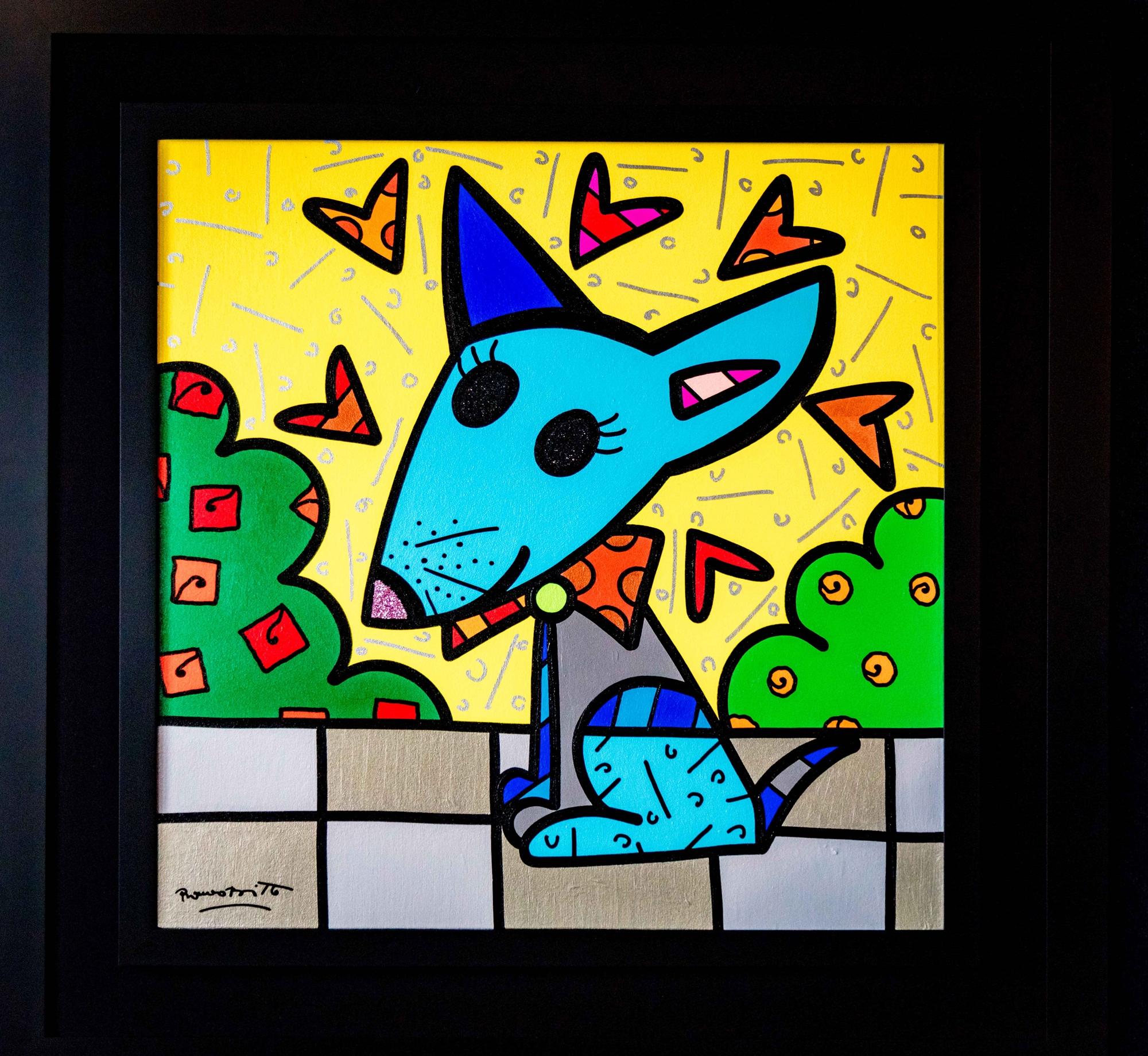 MEXICO(dog) by Romero Britto