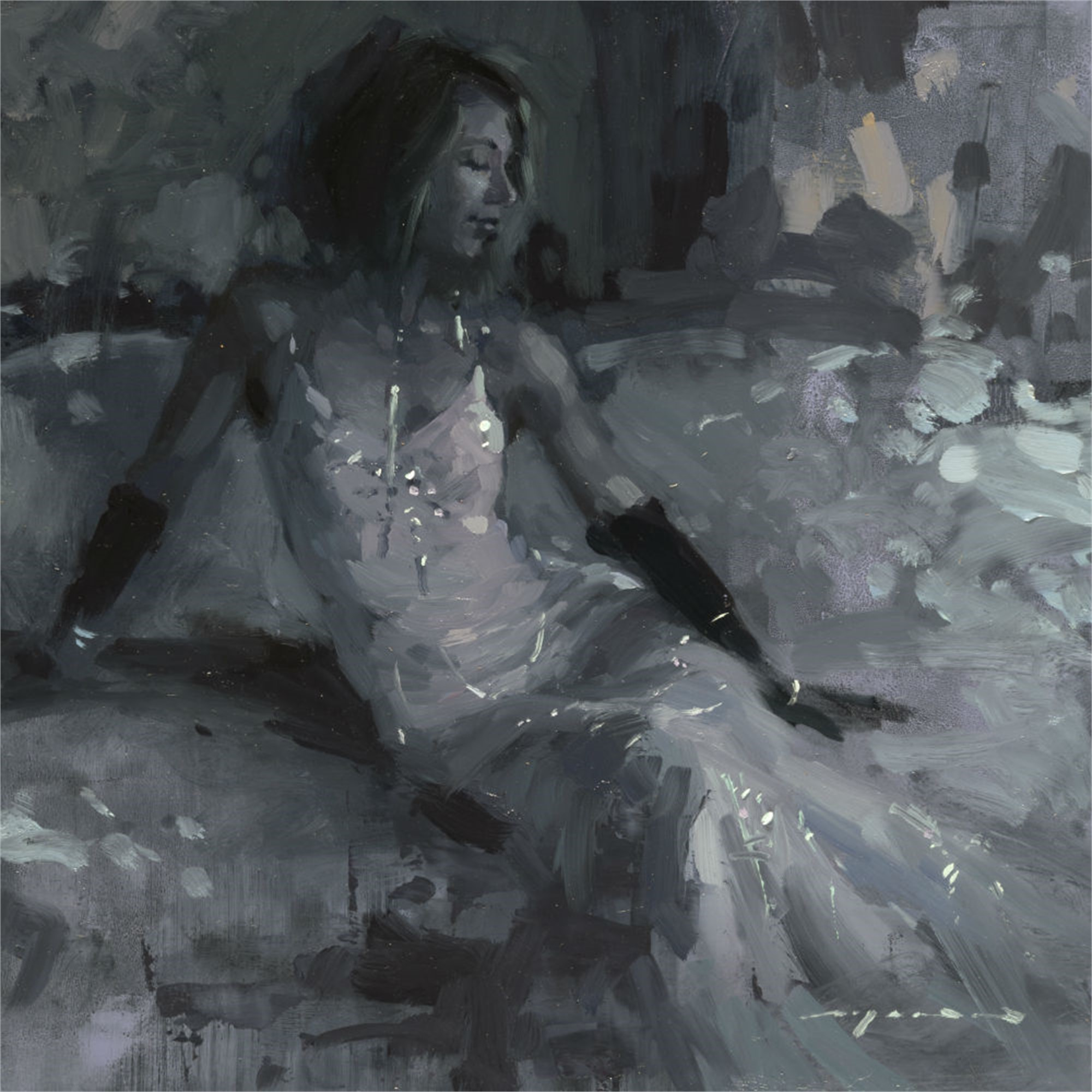 Figure - Composed Form Study 3 by Jeremy Mann