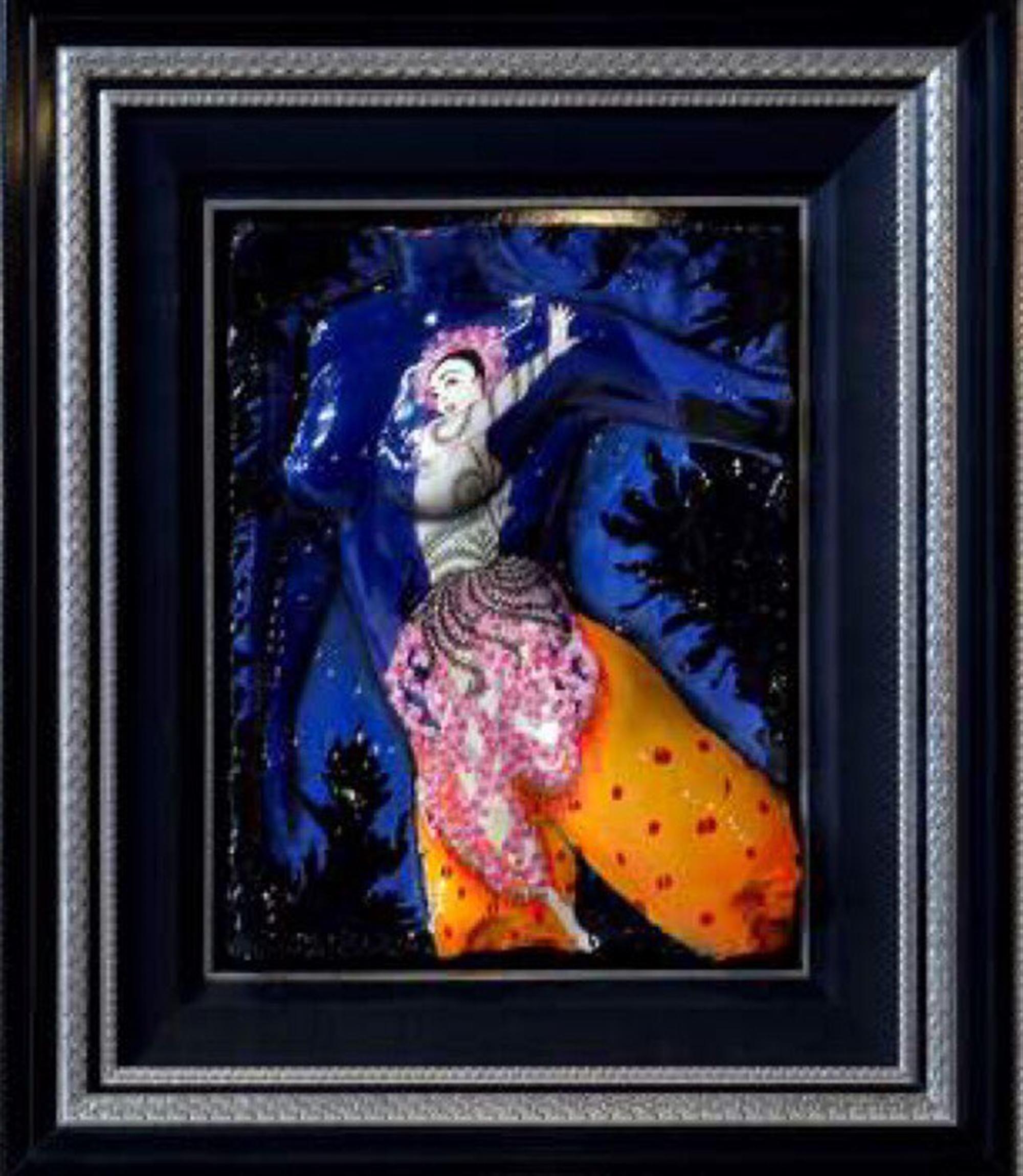 Spirit Erte Flowers in Detail by Bill Mack