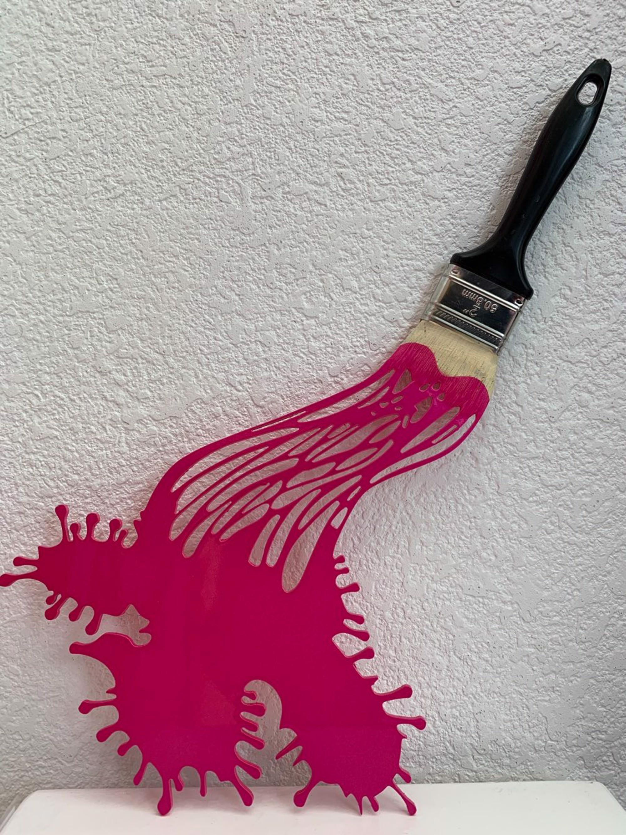 Lets Paint Metal Mini Fuschia by Efi Mashiah