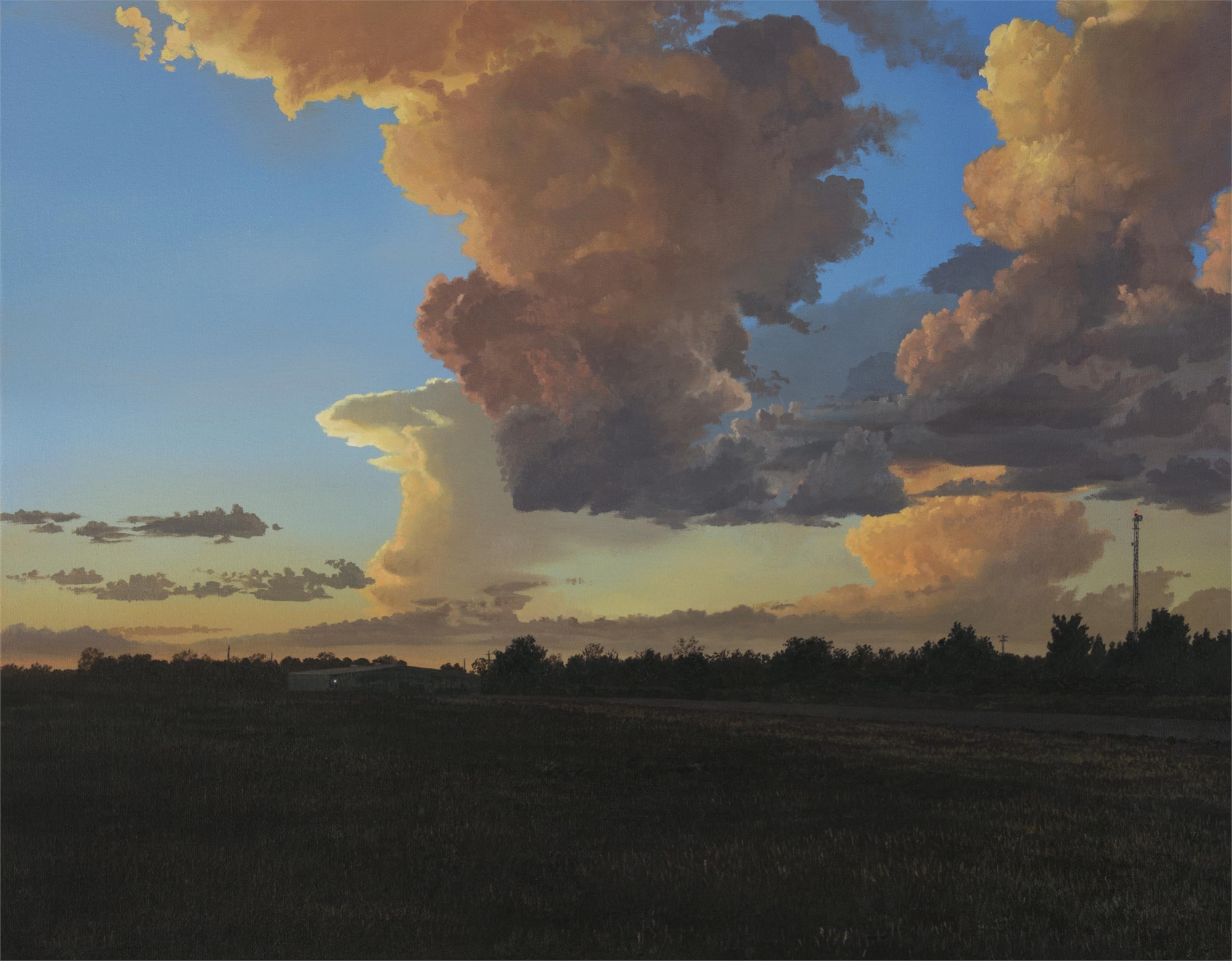 Late Light (Texans' Twilight) by Pat Gabriel