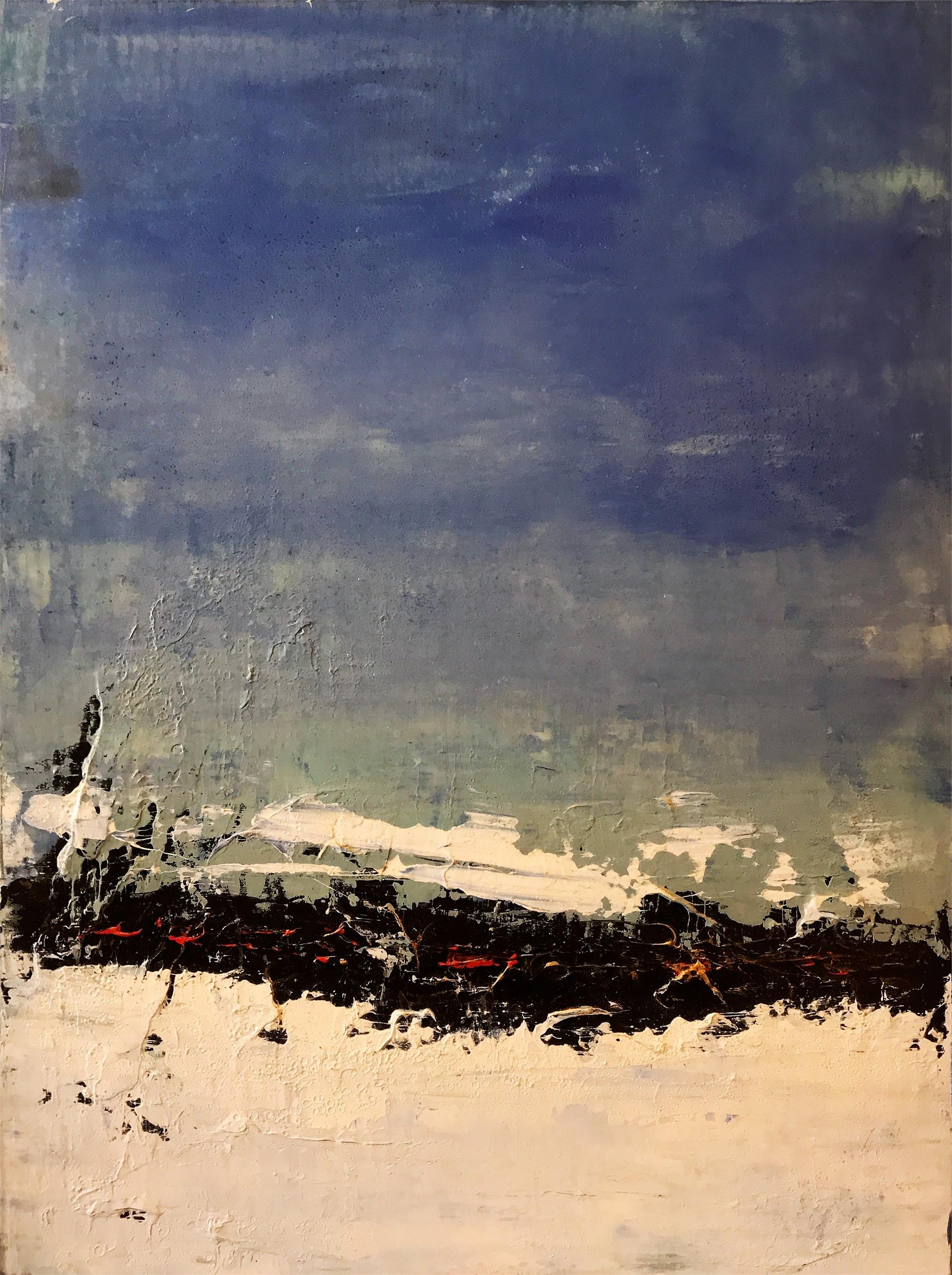 Blue Skies, 2018 by Brad Robertson
