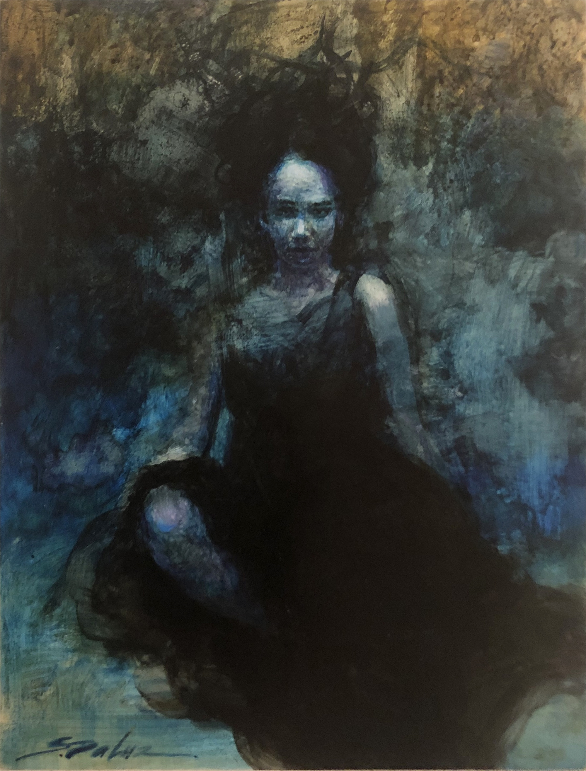 The Black Dress by Steven DaLuz