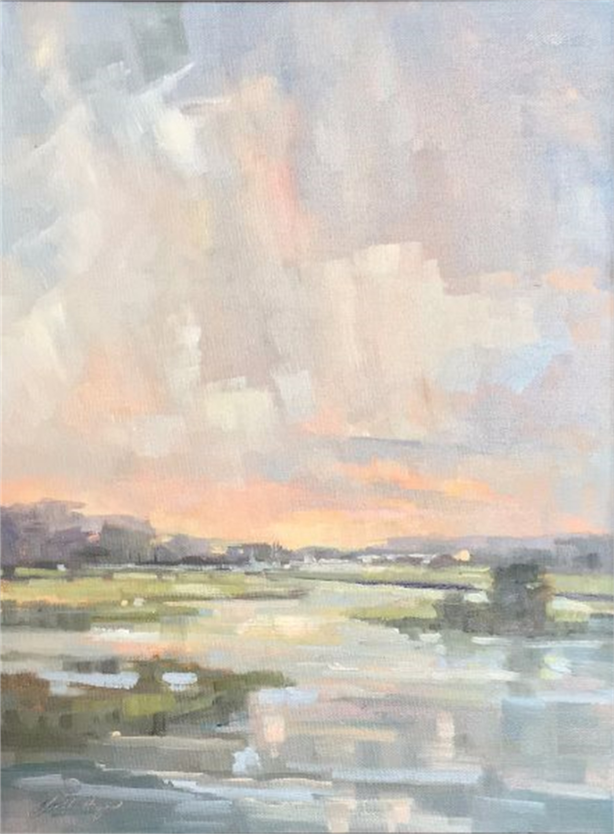 Figure 8 Island Near Dusk by Karen Hewitt Hagan