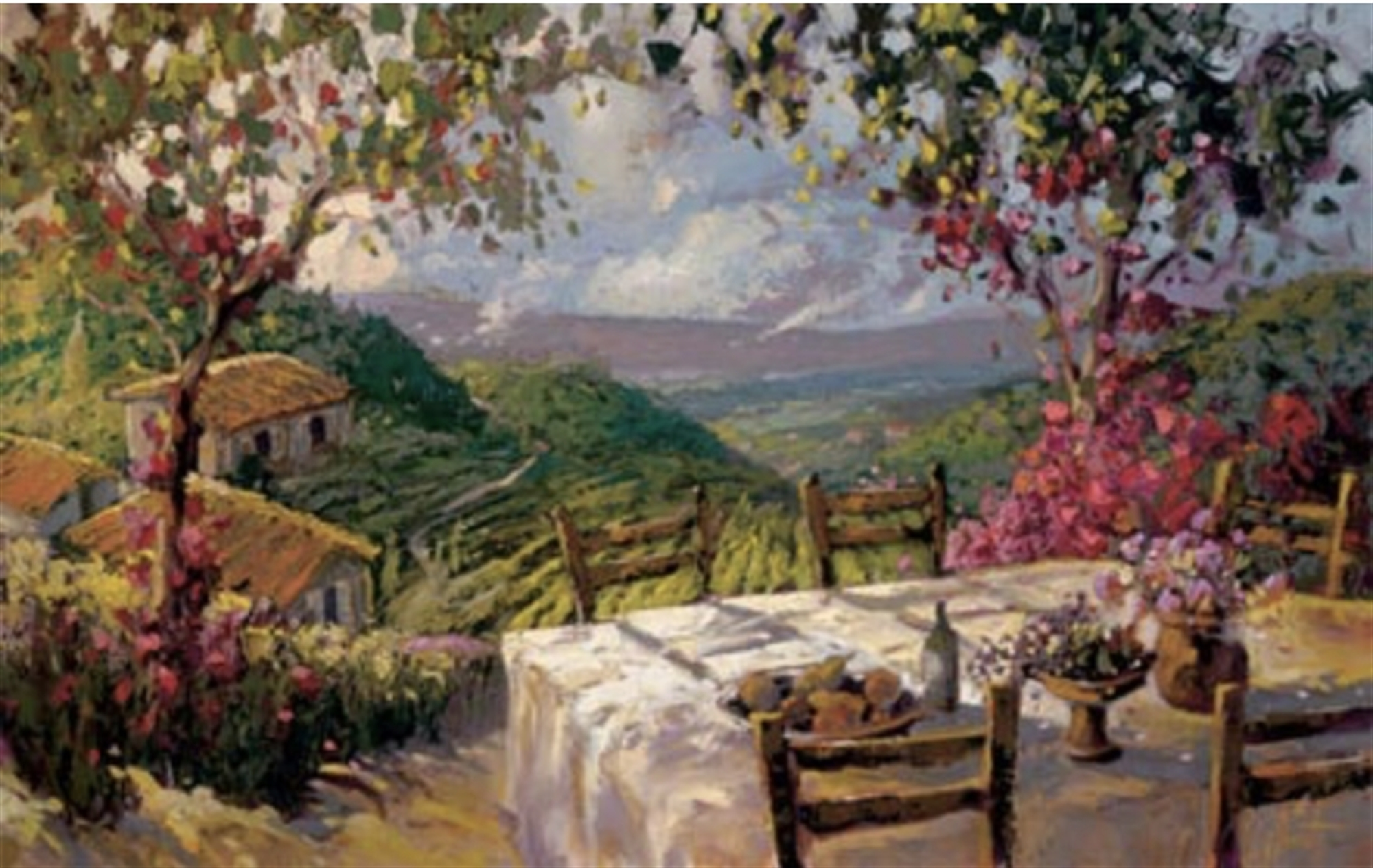 Hills of Tuscany by Steven Quartly