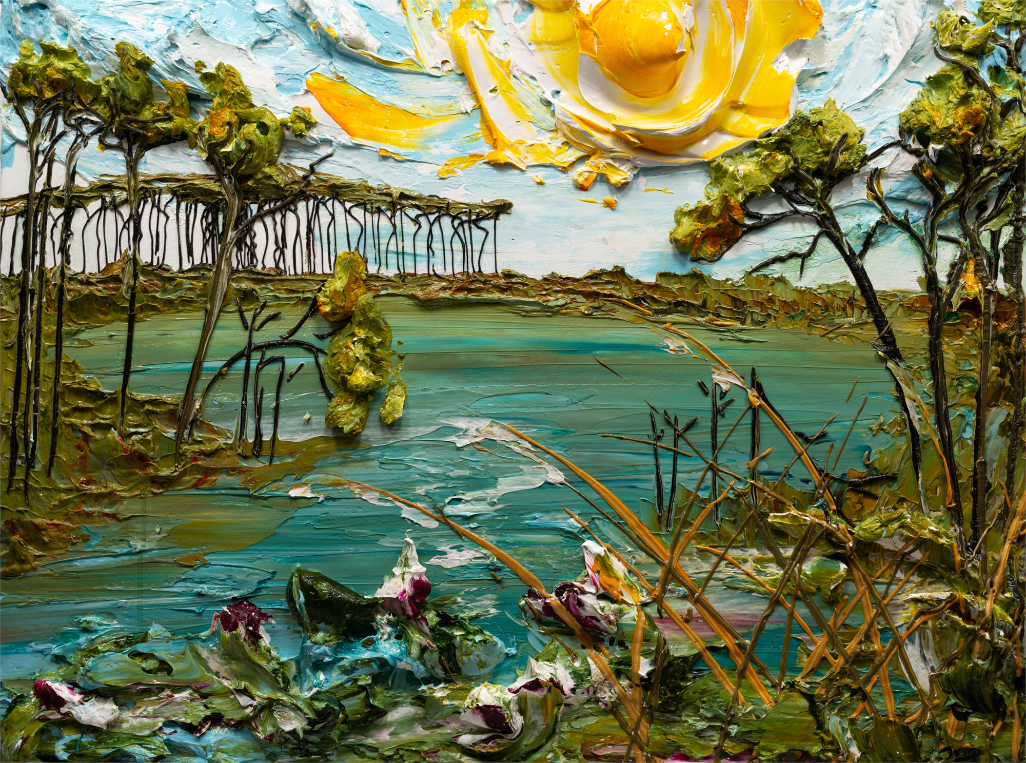 LAKESCAPE-LS-40X30-2019-158 by JUSTIN GAFFREY