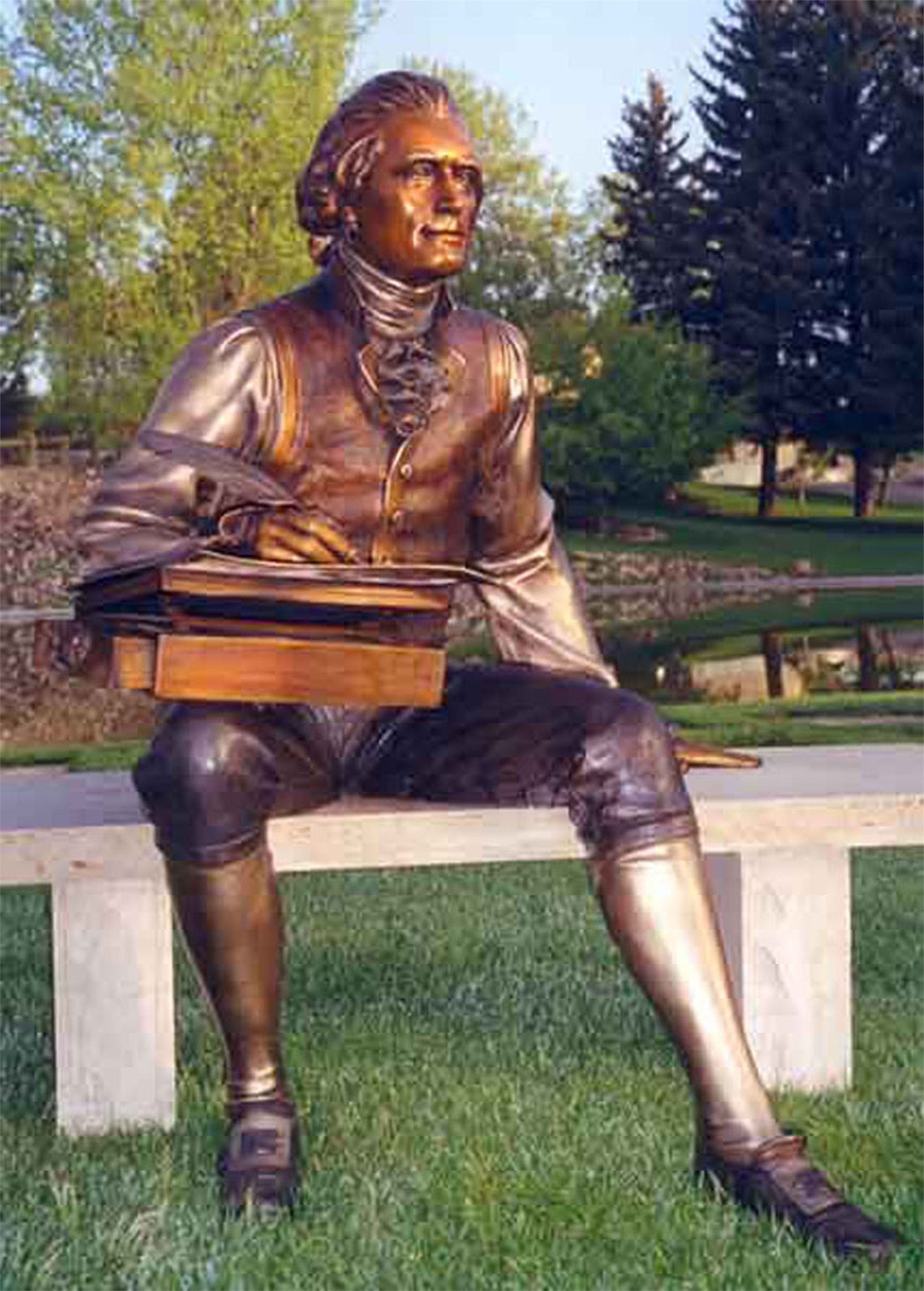 Thomas Jefferson by George Lundeen