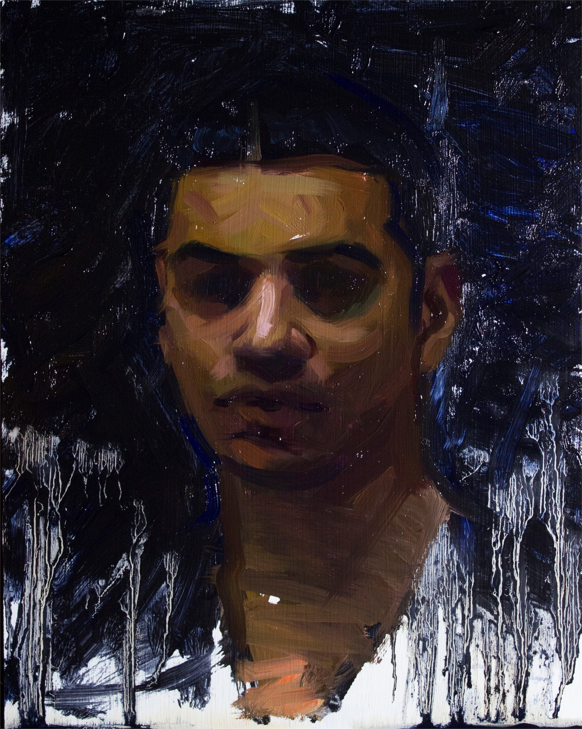 Self Portrait by Devon Rodriguez