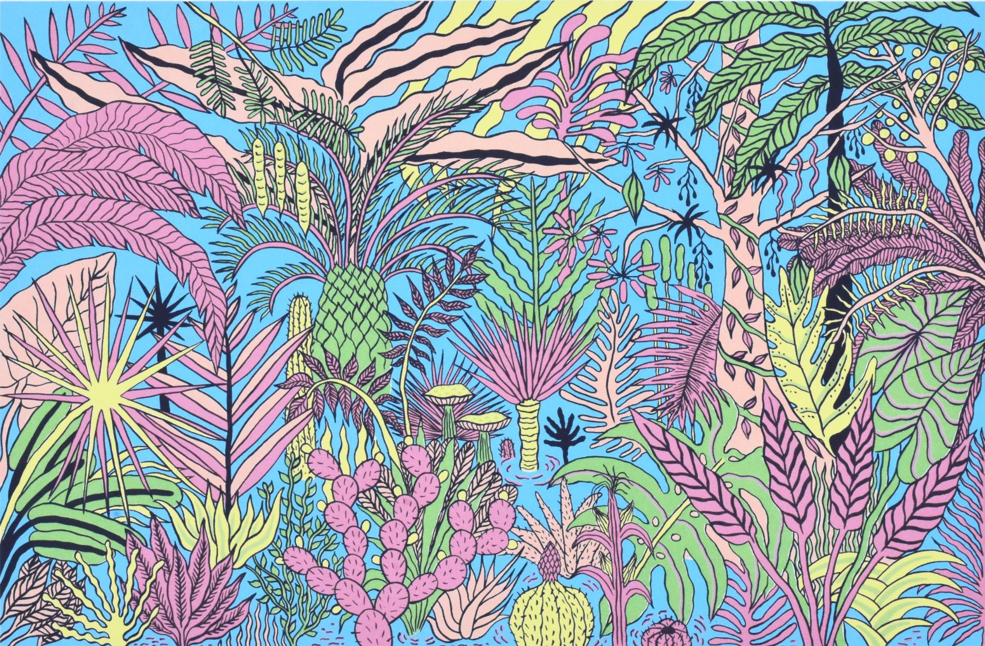 Flora (Framed) by Mirel Fraga