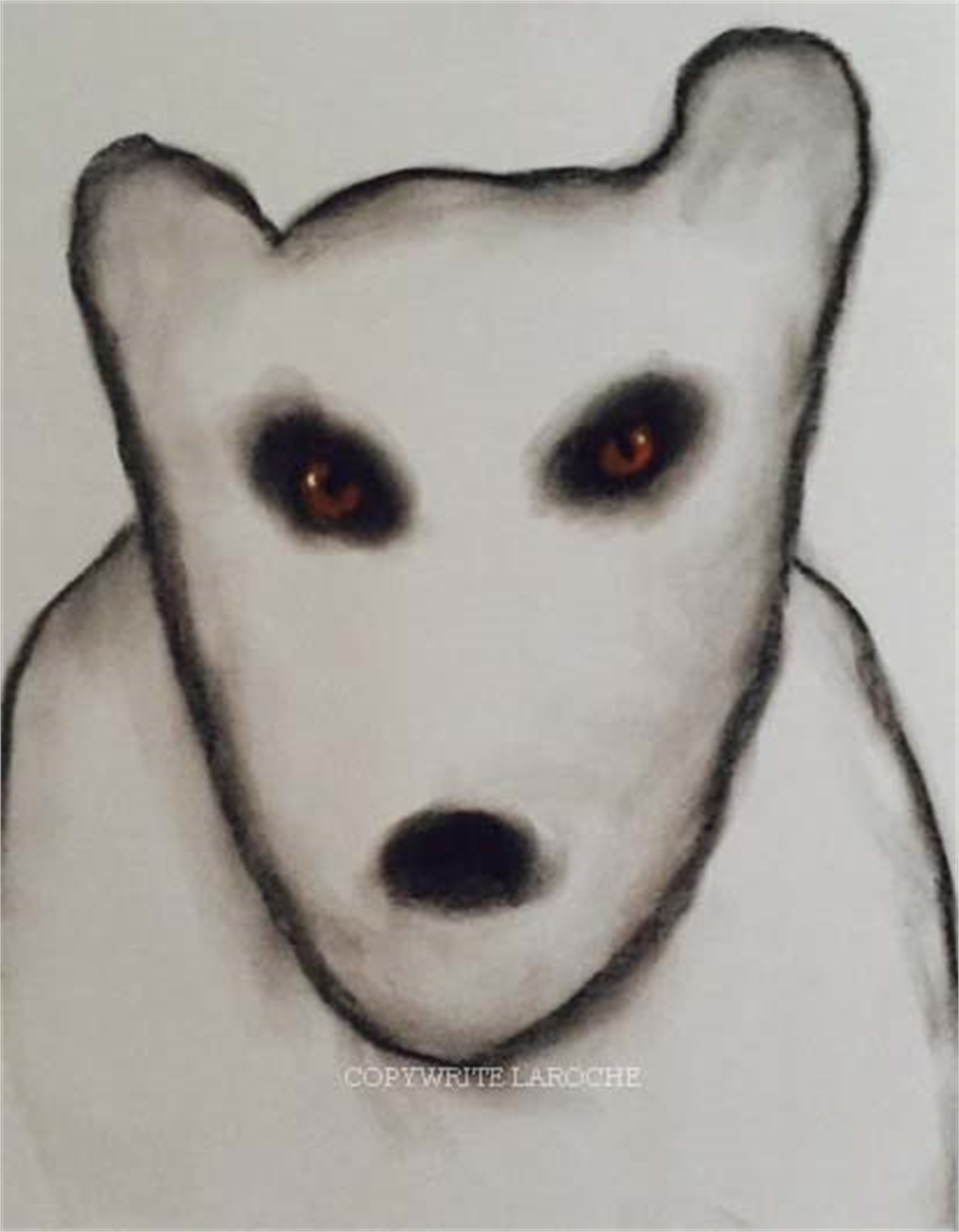 THE VISITORS/BEAR VI by Carole LaRoche
