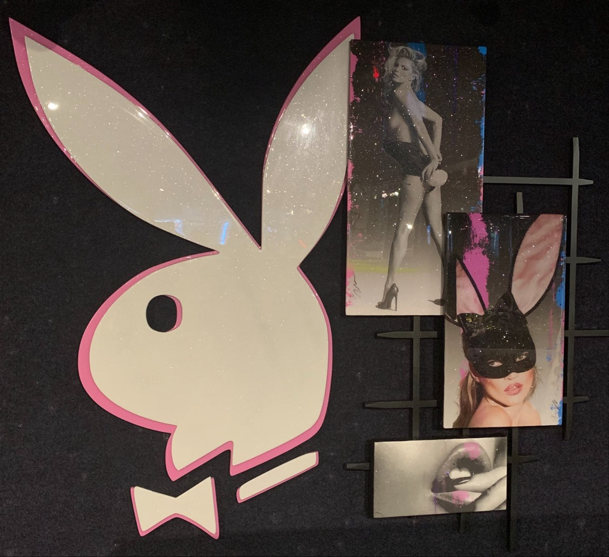 Installation: Playboy Kate Moss by Adam Scott Rote