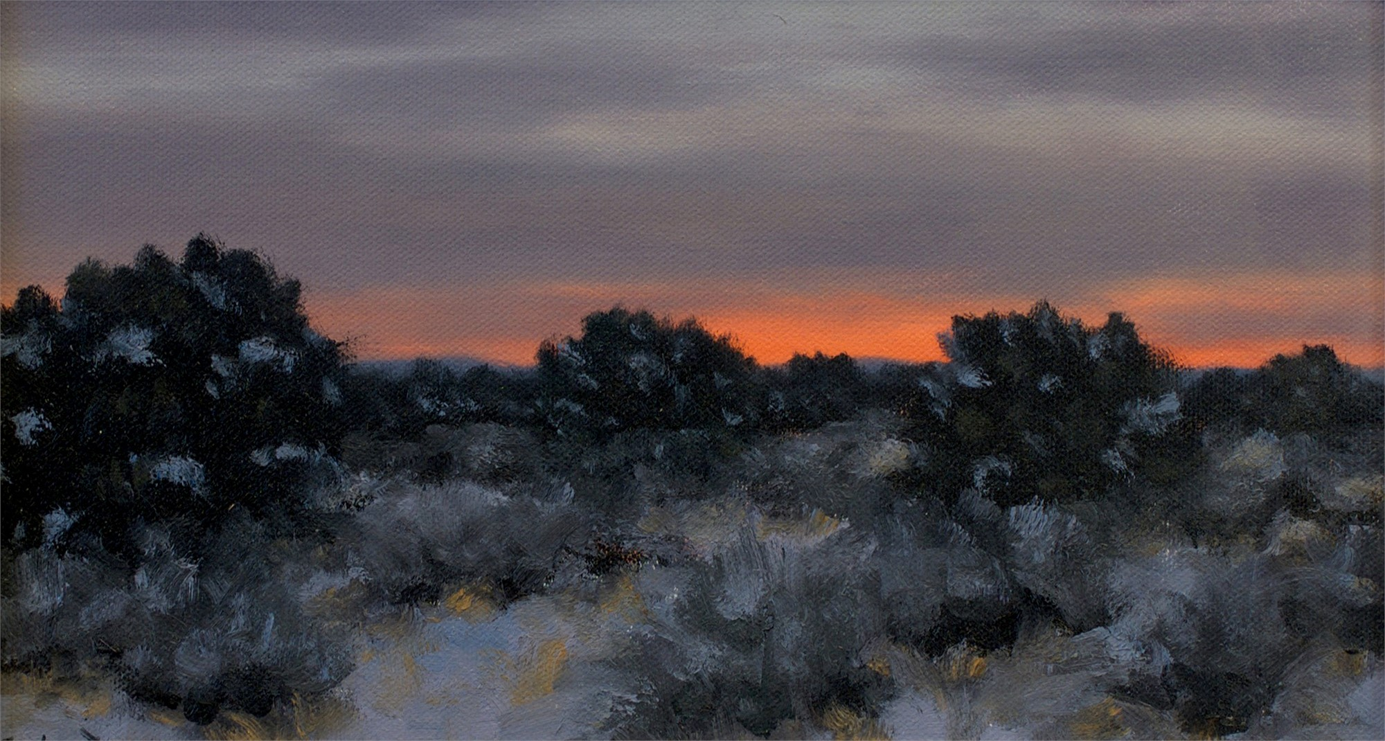 Winter Sunset by Stephen Day