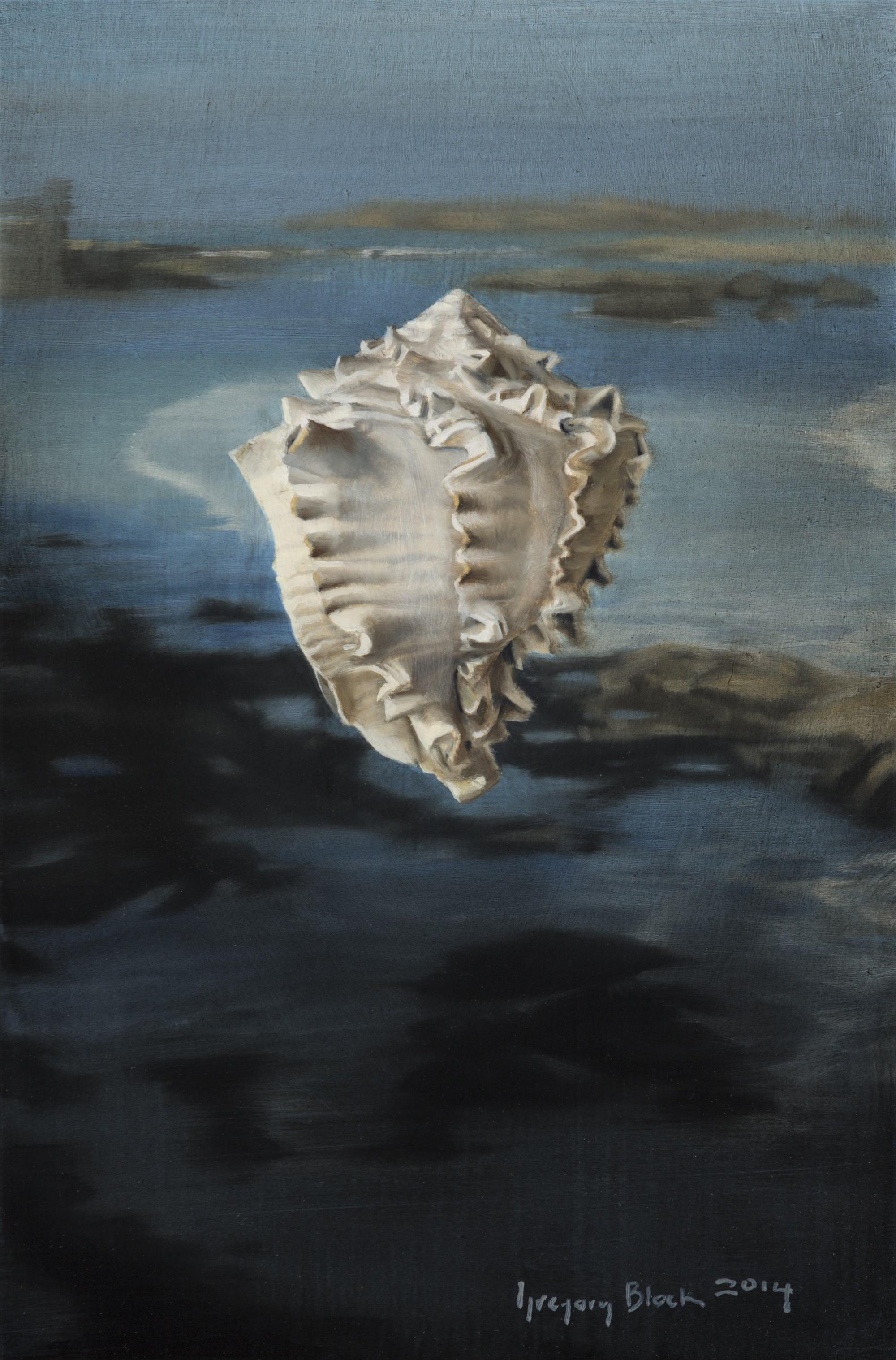 Shell, Low Tide by Gregory Block
