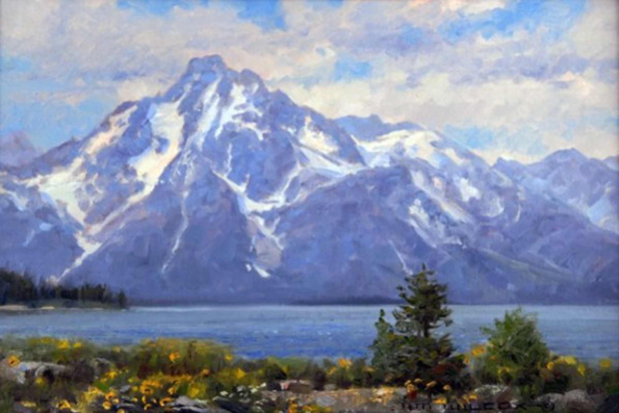 Colter Bay by Jim Wilcox