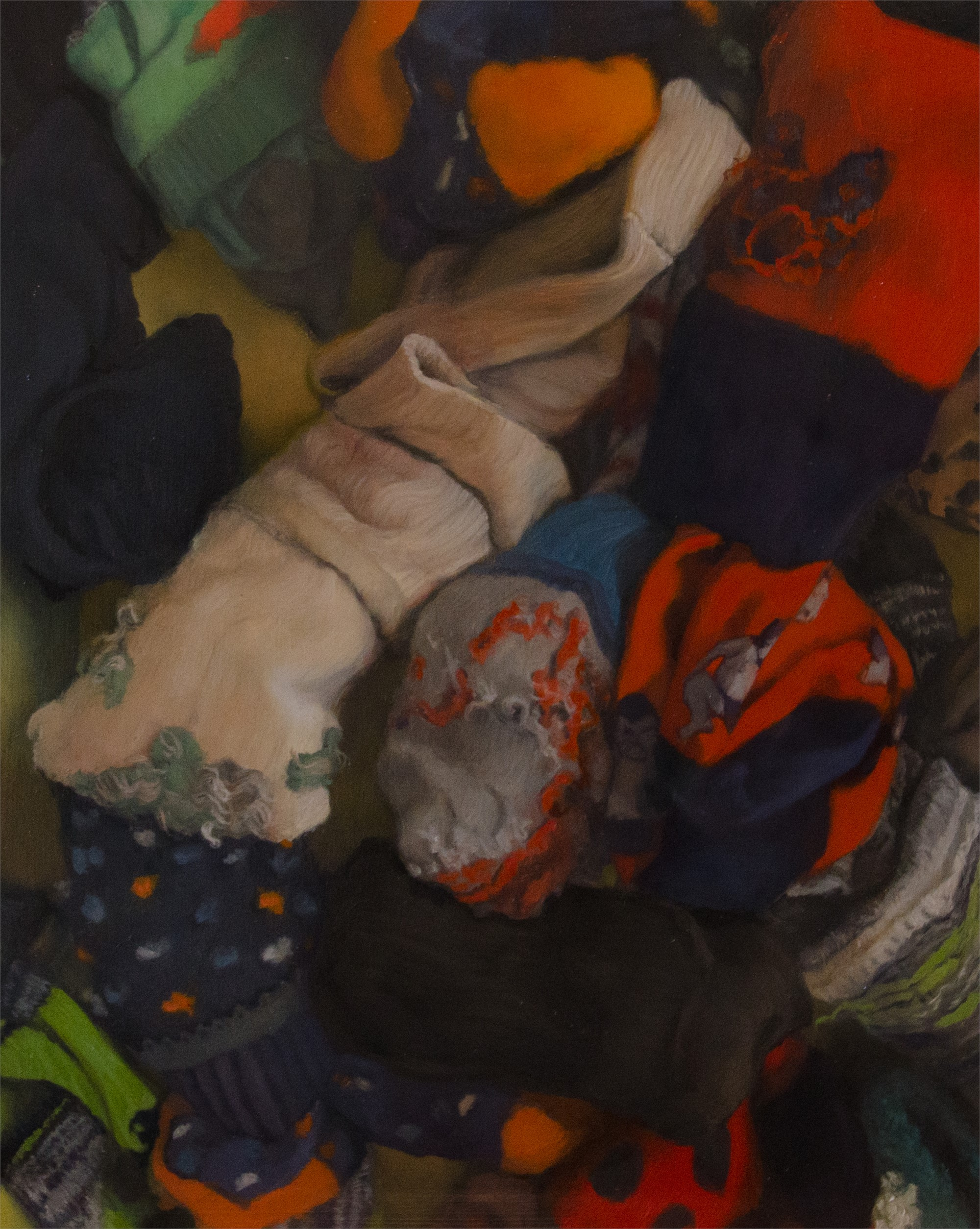 Inside, Sock Drawer by Erin Milan