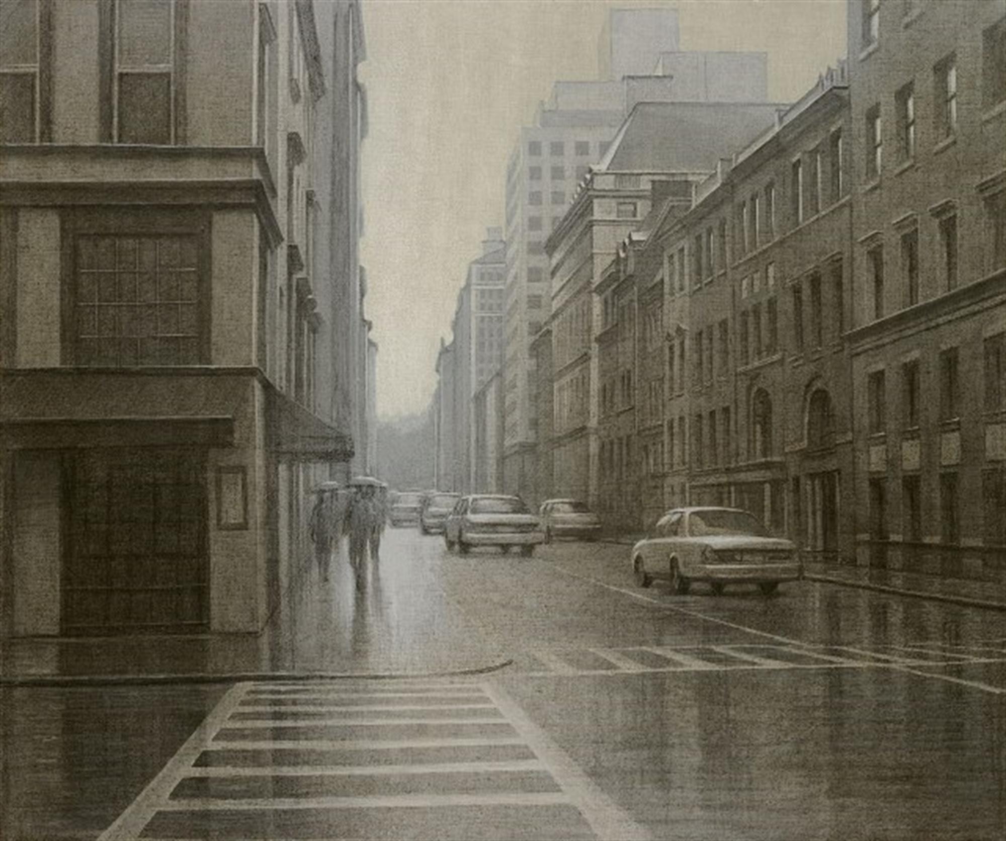 A Misty Day- Manhattan by Alexei Butirskiy