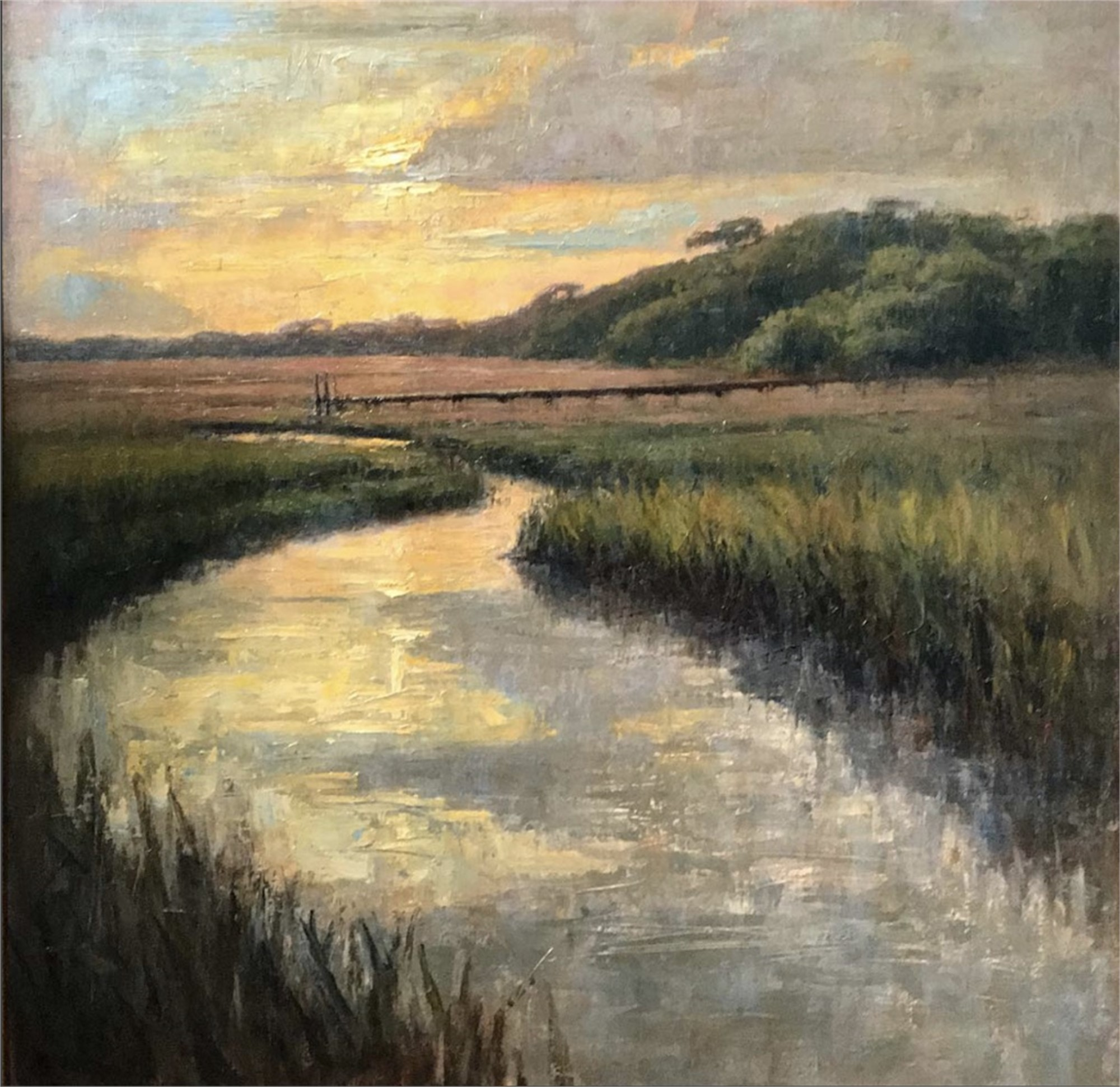 Marsh at Sunset by Brett Weaver
