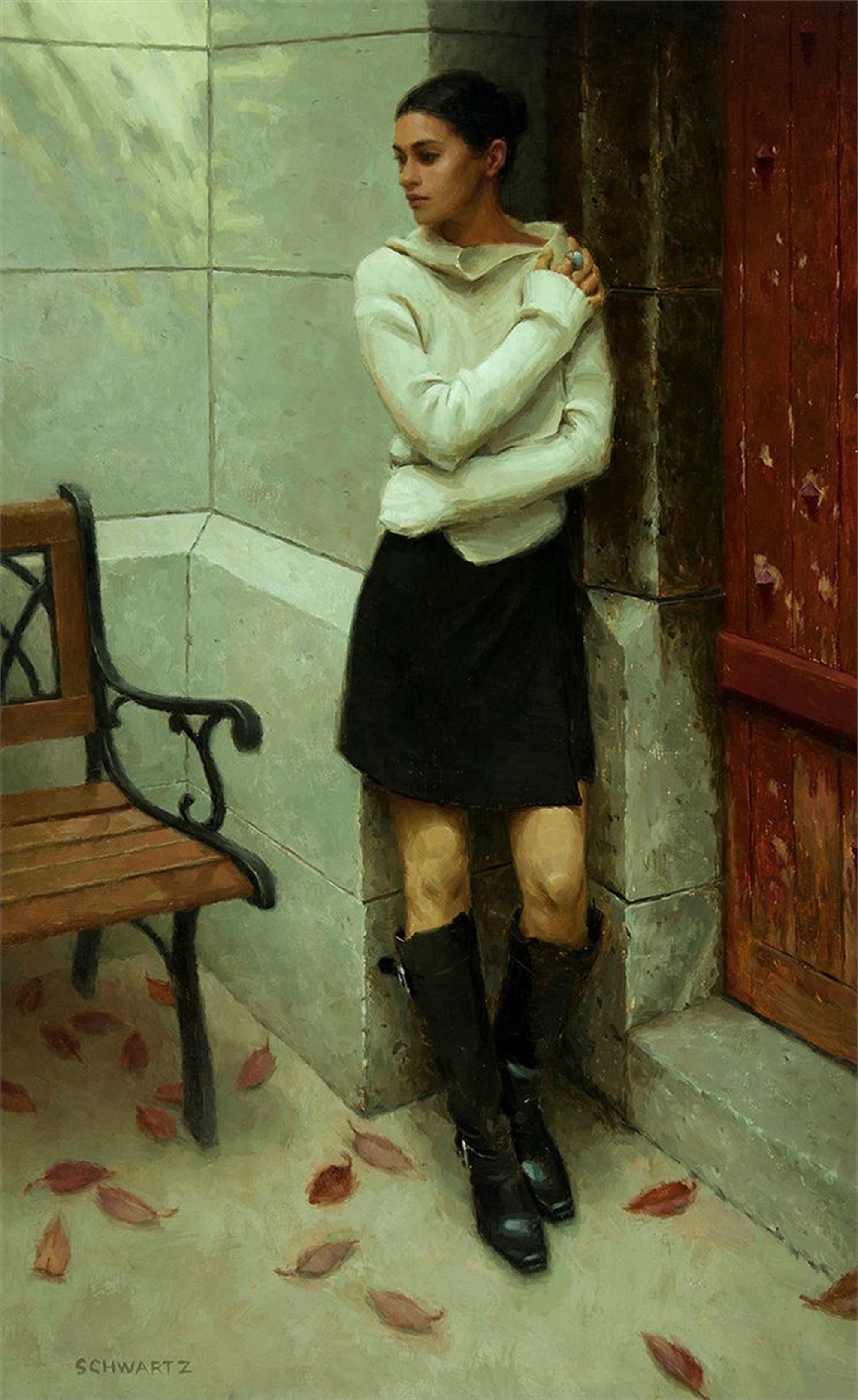 Fall at Sacre Coeur by Mark Bradley Schwartz