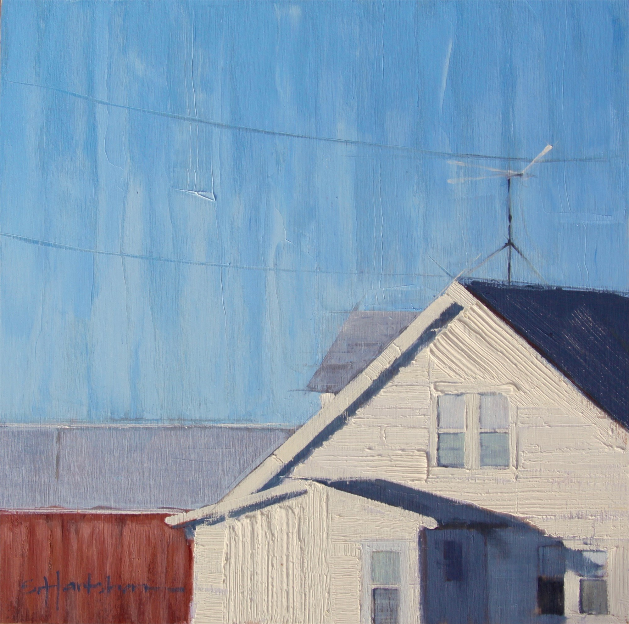 Rural Roofline by Stephanie Hartshorn