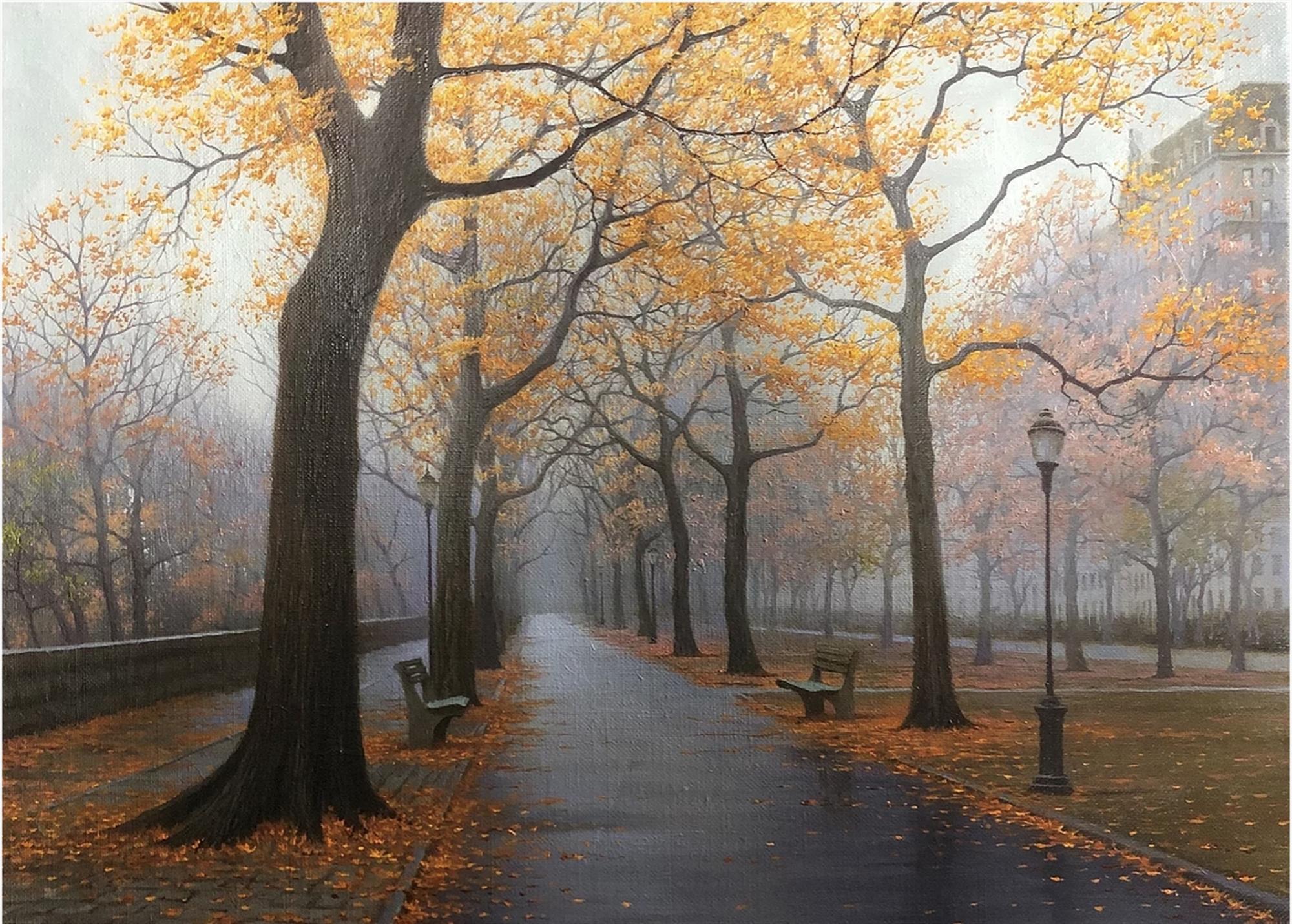 Autumn's Blanket by Alexei Butirskiy