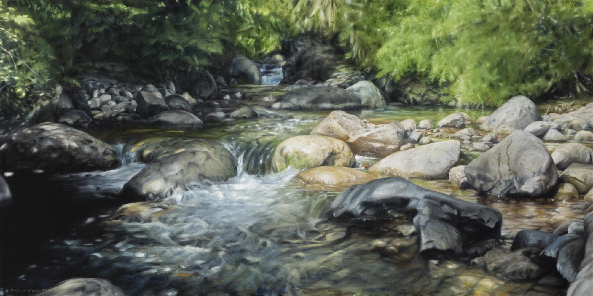 Rio Cochamo by Gregory Block