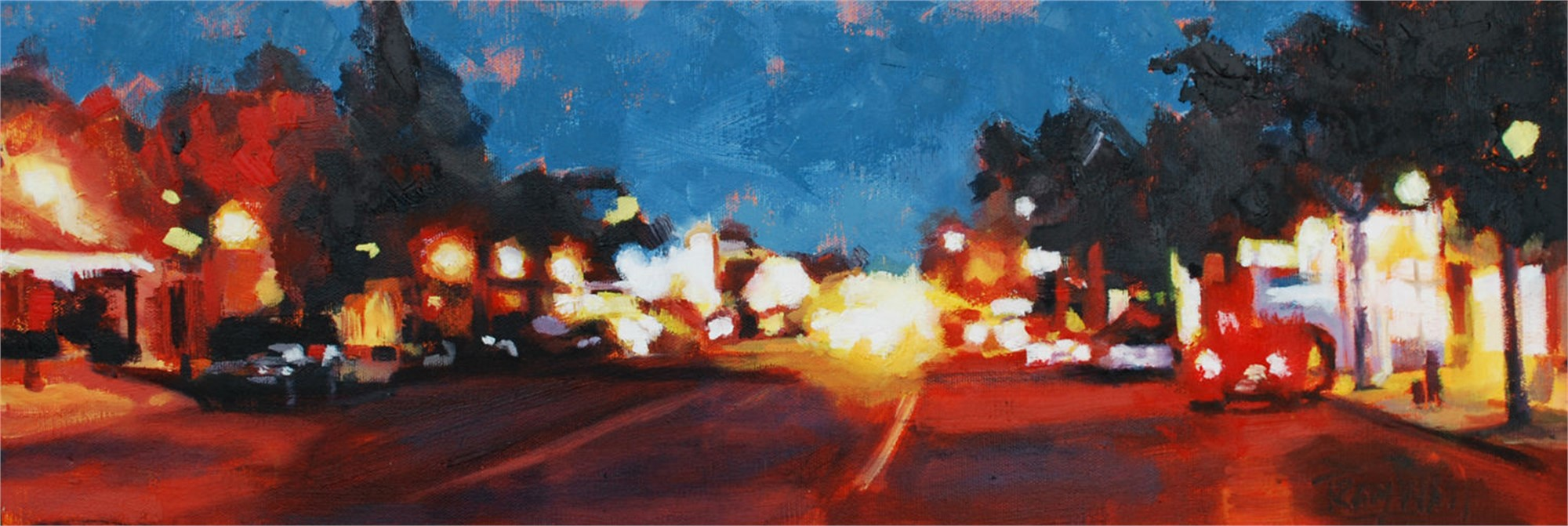 Colfax Lights by Tracy Wall