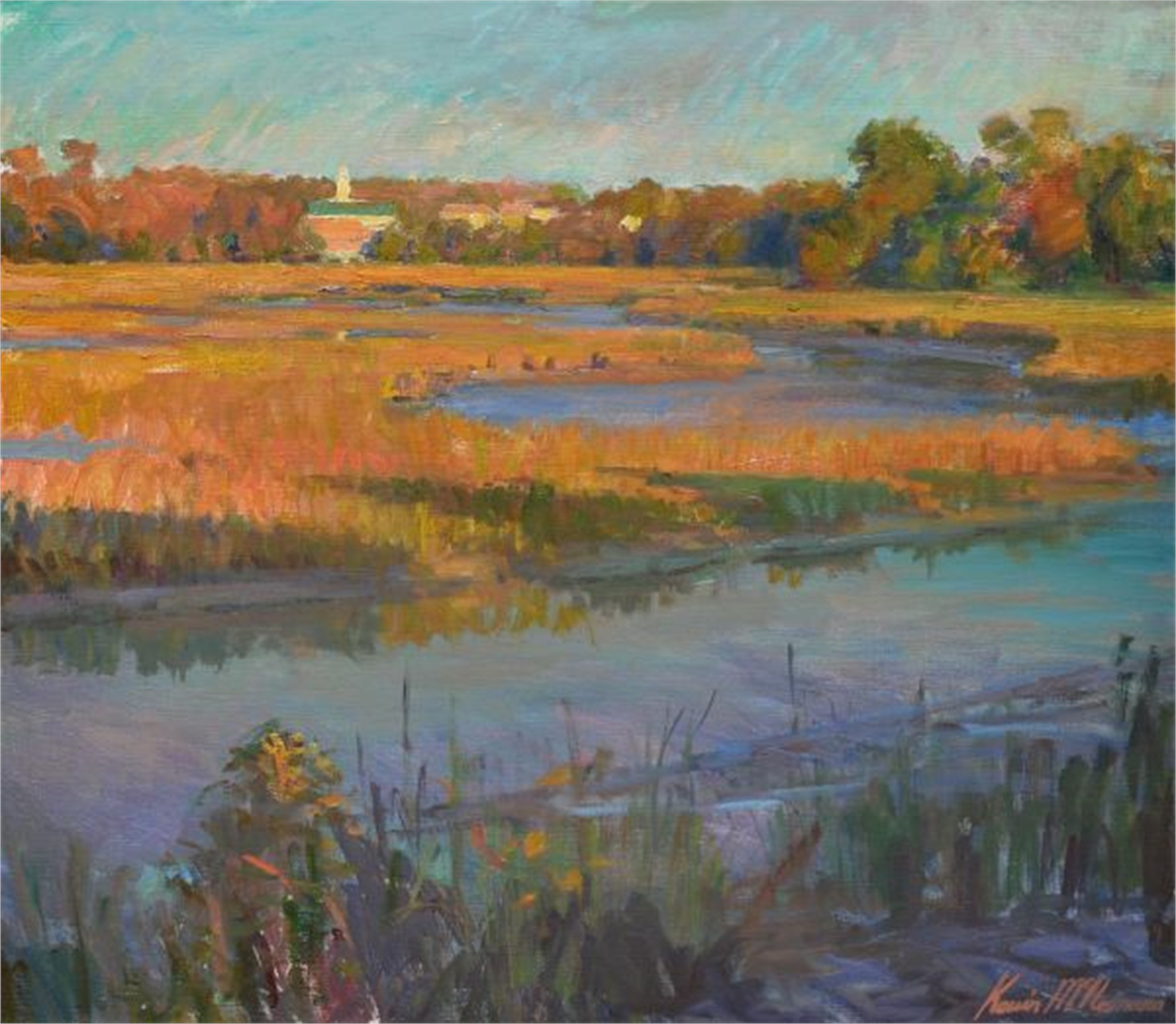 Evening Marsh, South Carolina by Kevin McNamara