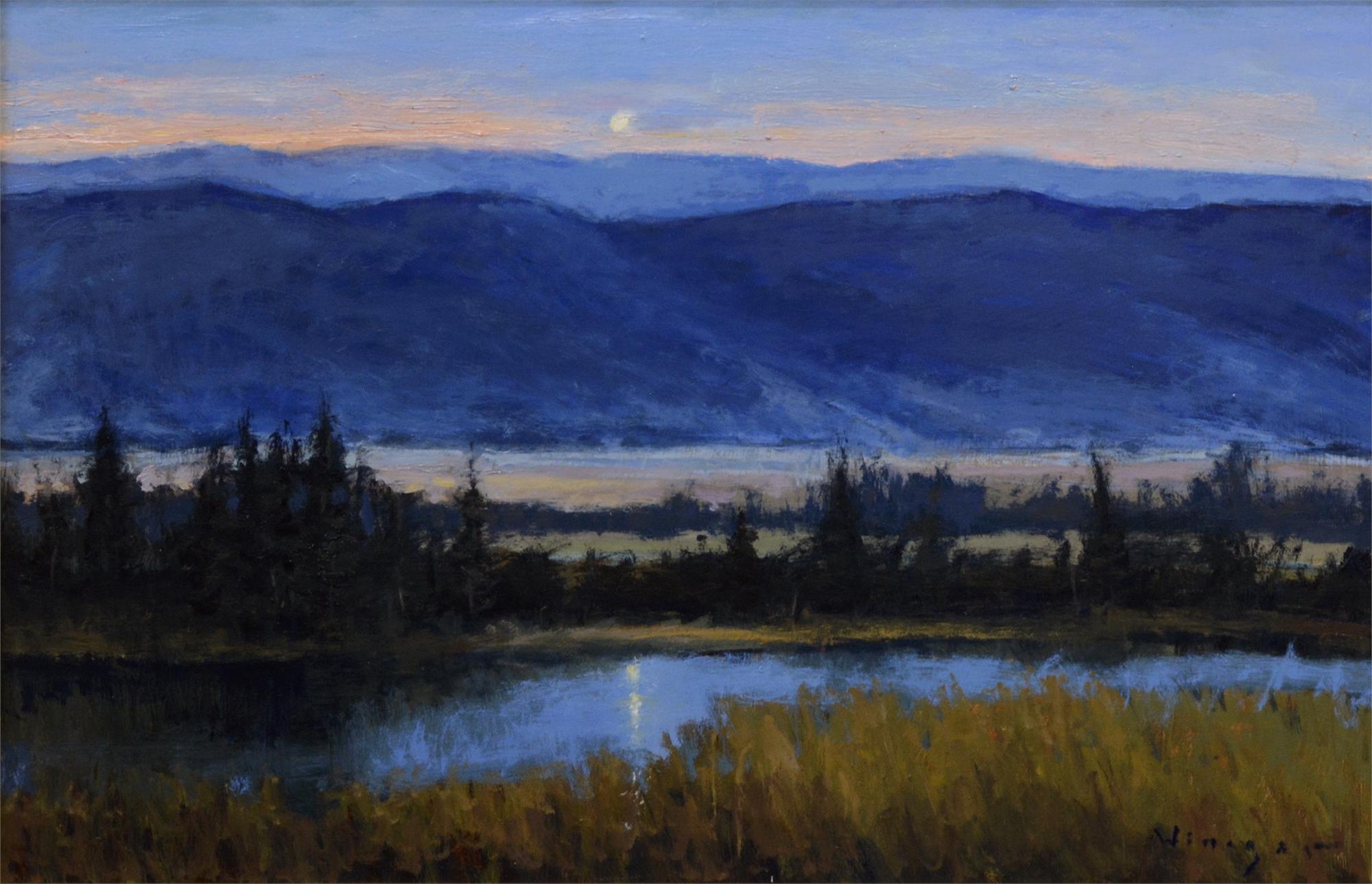 Rising Moon by Seth Winegar