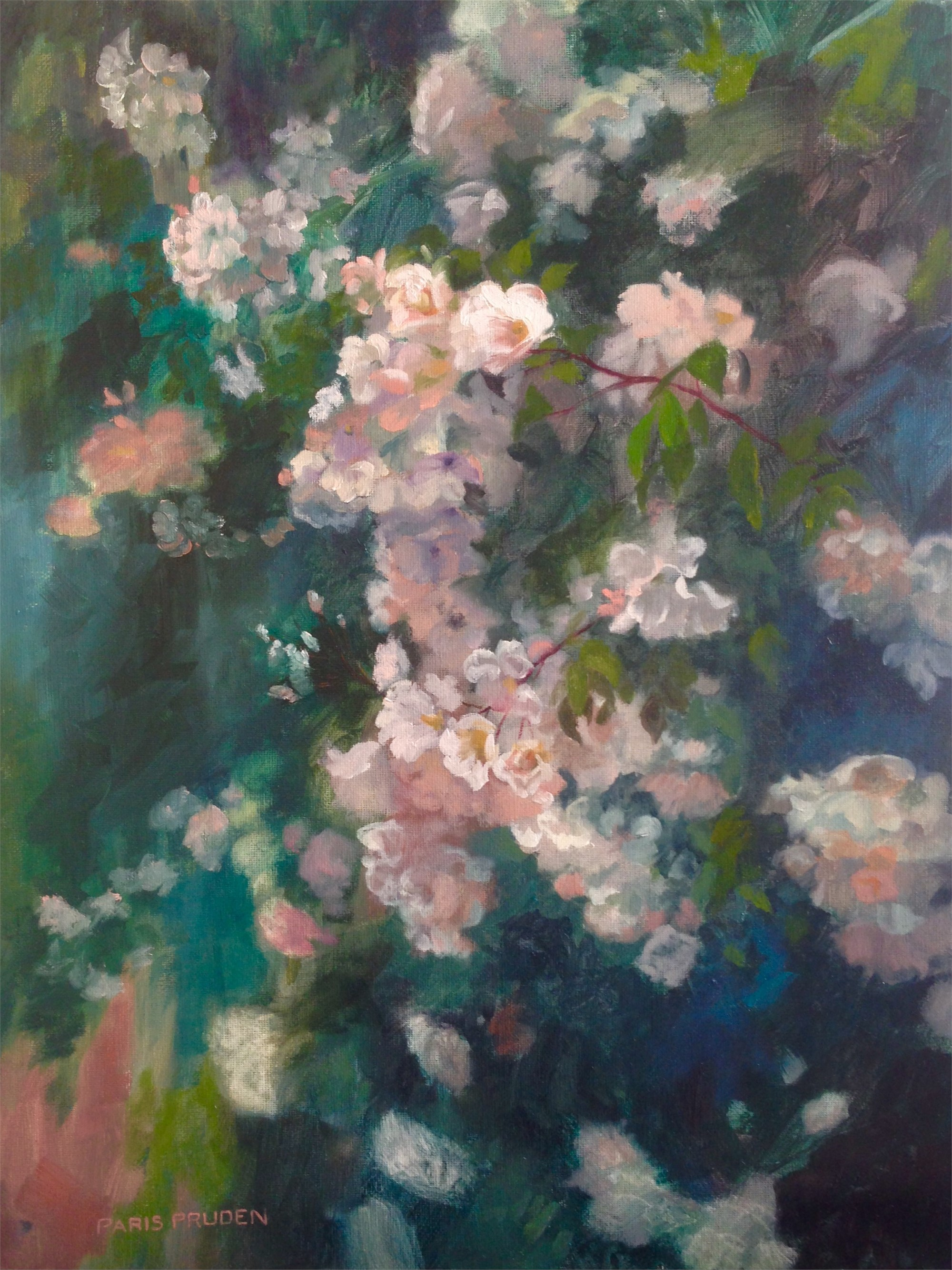 Spring Blossoms by Nancy Paris Pruden