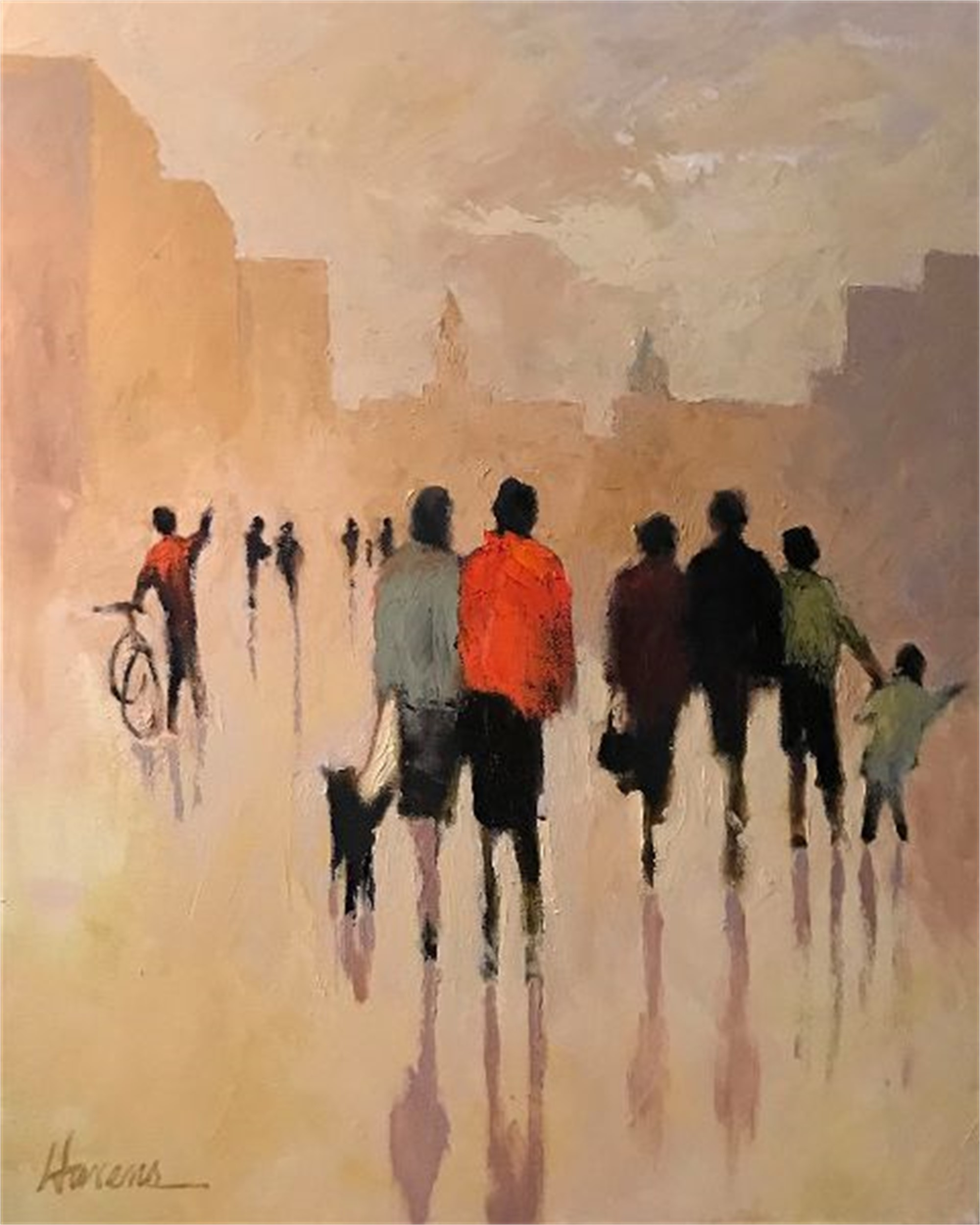 On Saturday by Betsy Havens