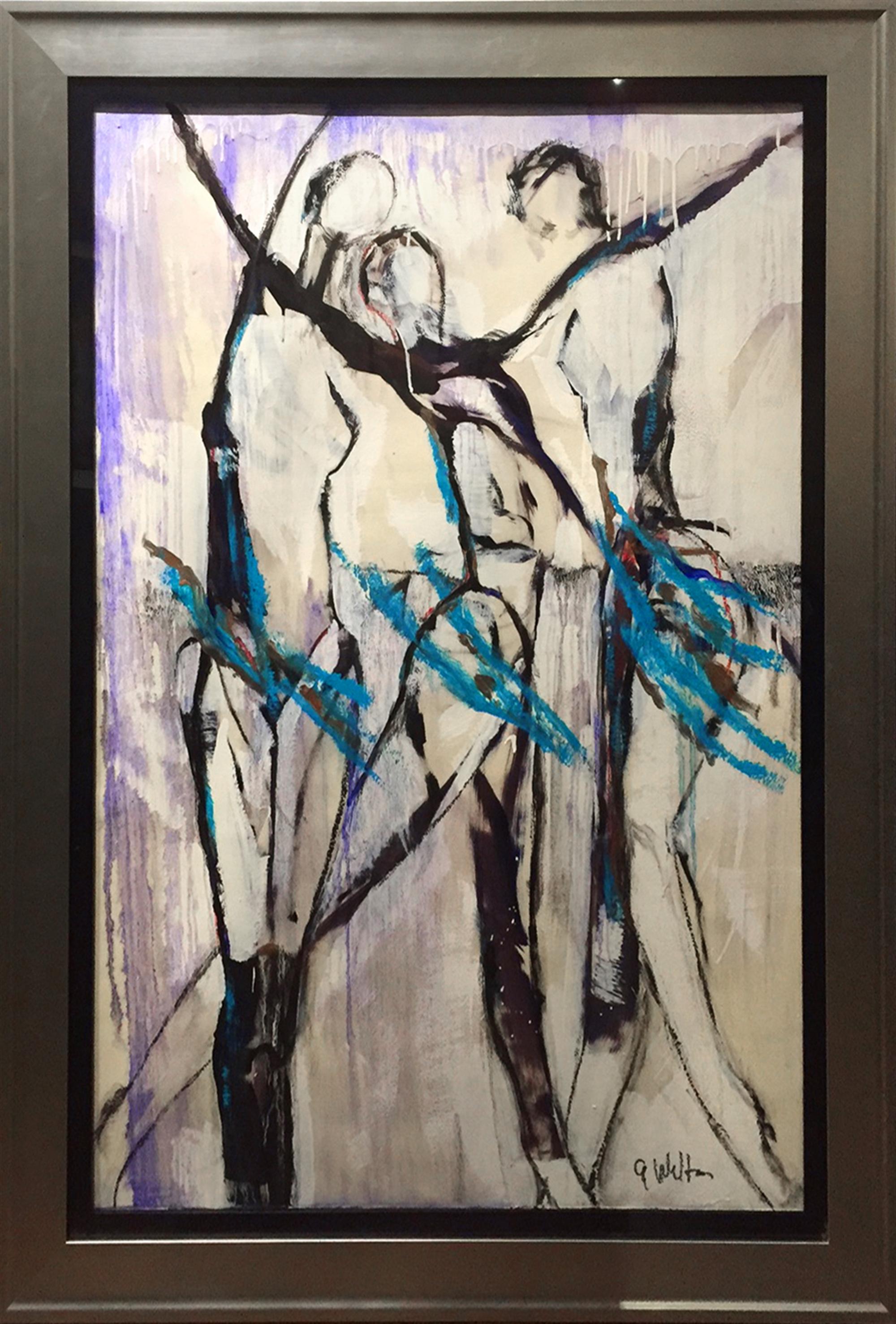 Purple Summer Rain by Gary Welton