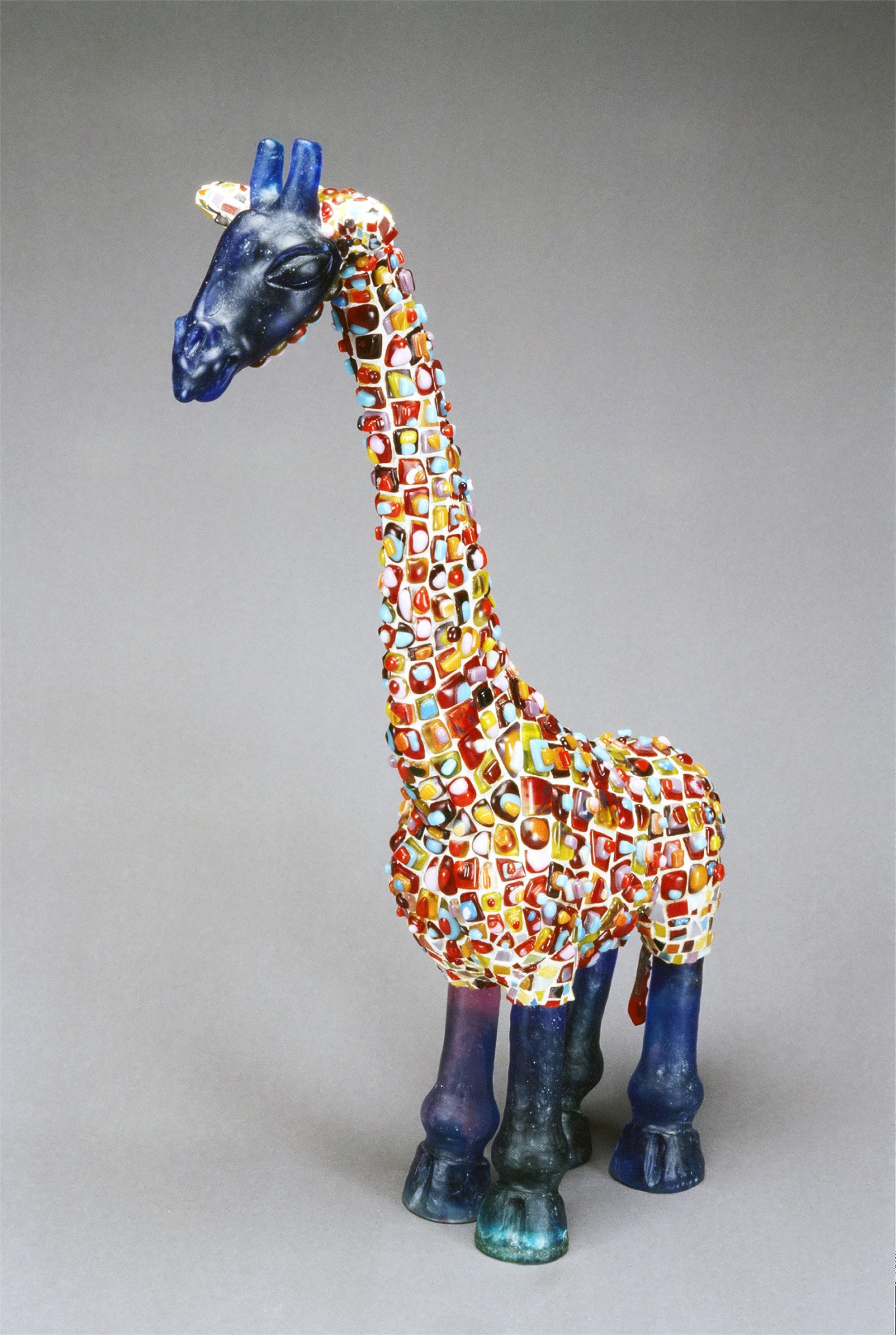 Glass Giraffe by Martha Shade
