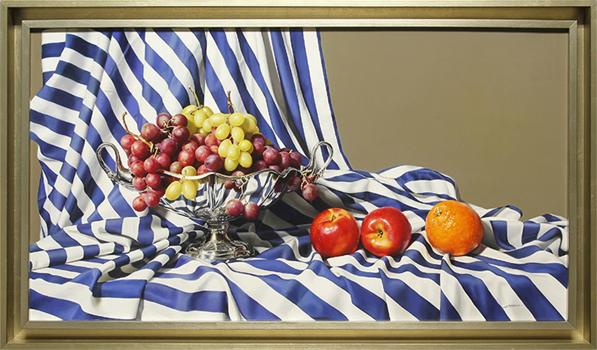 Silver and Fruit by Jesus Navarro