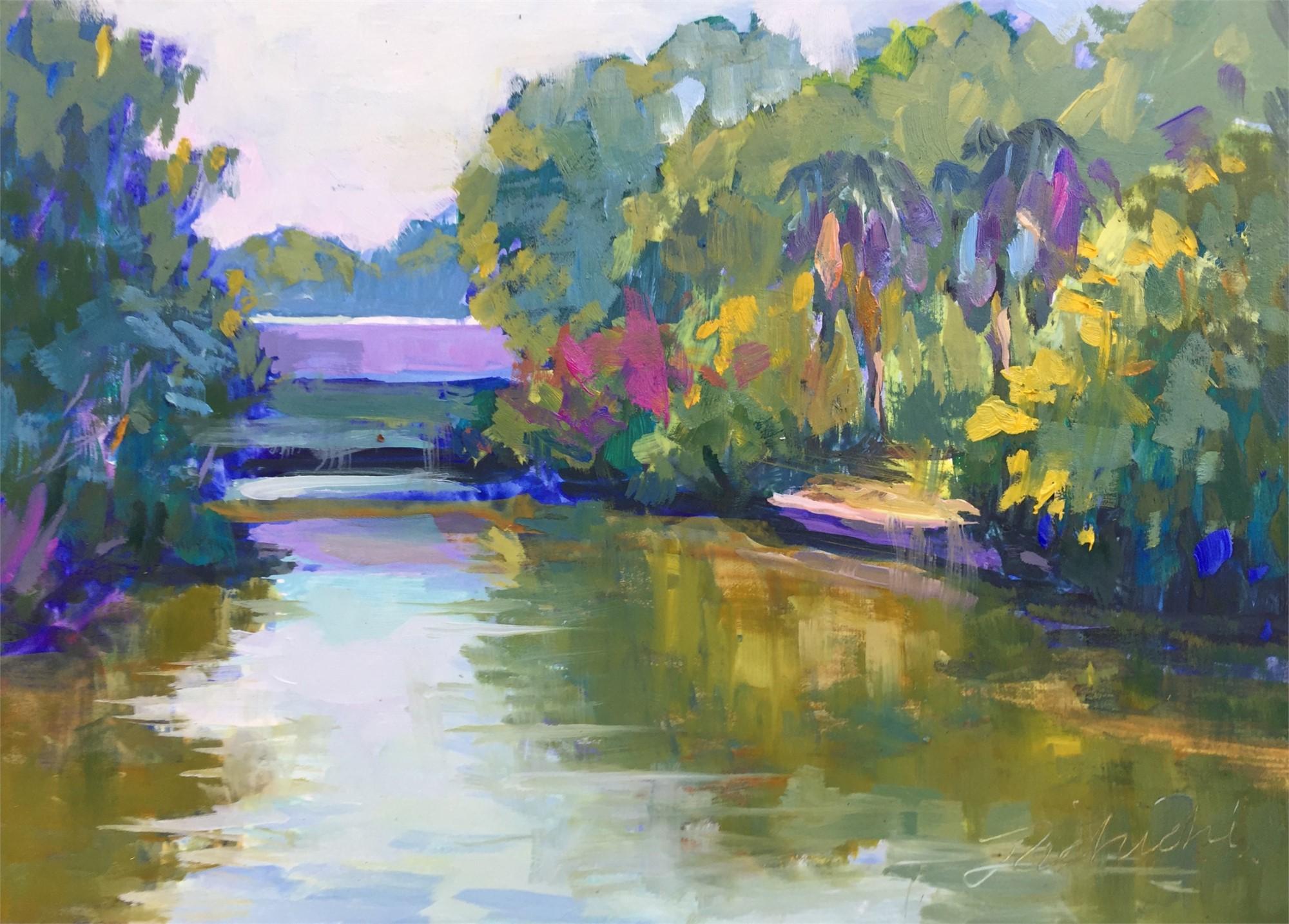 Hudson Bayou Serenity by Linda Richichi