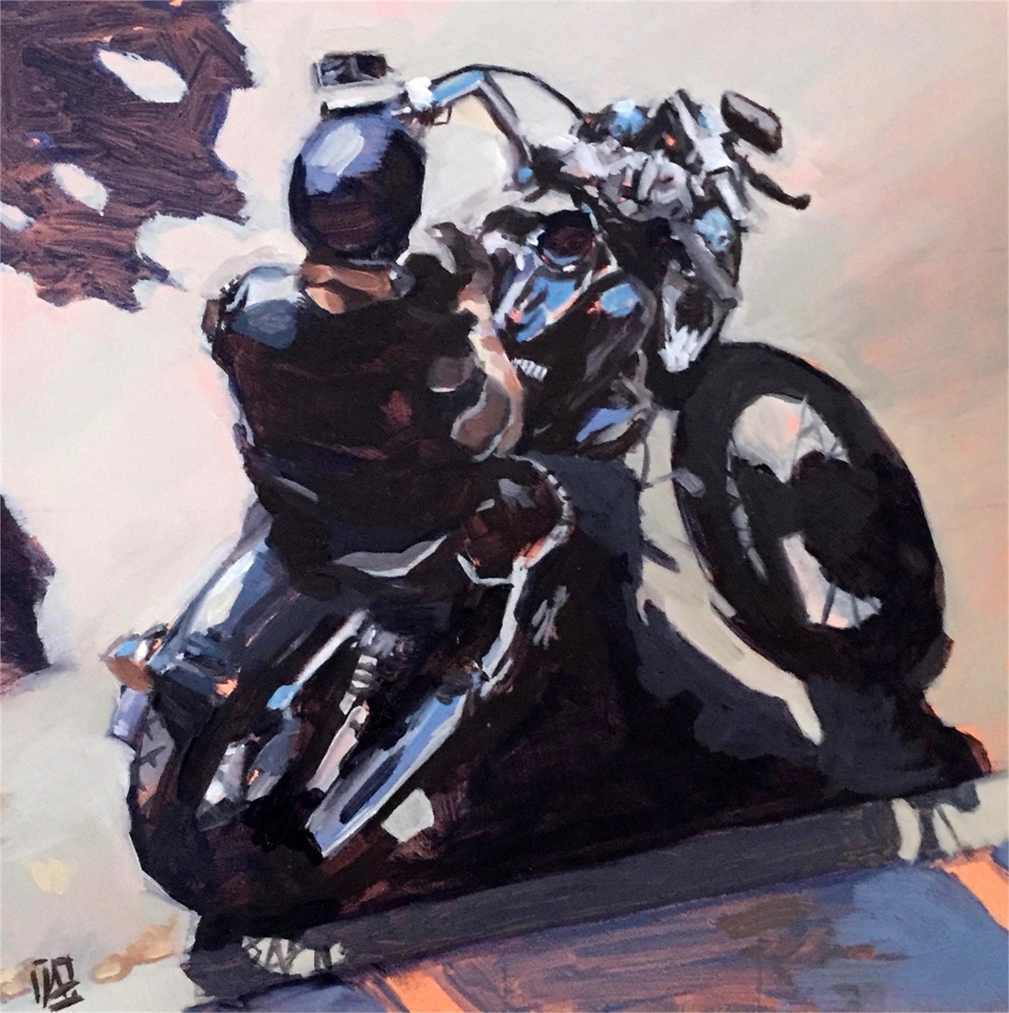 Motorcyle by Julie Larick