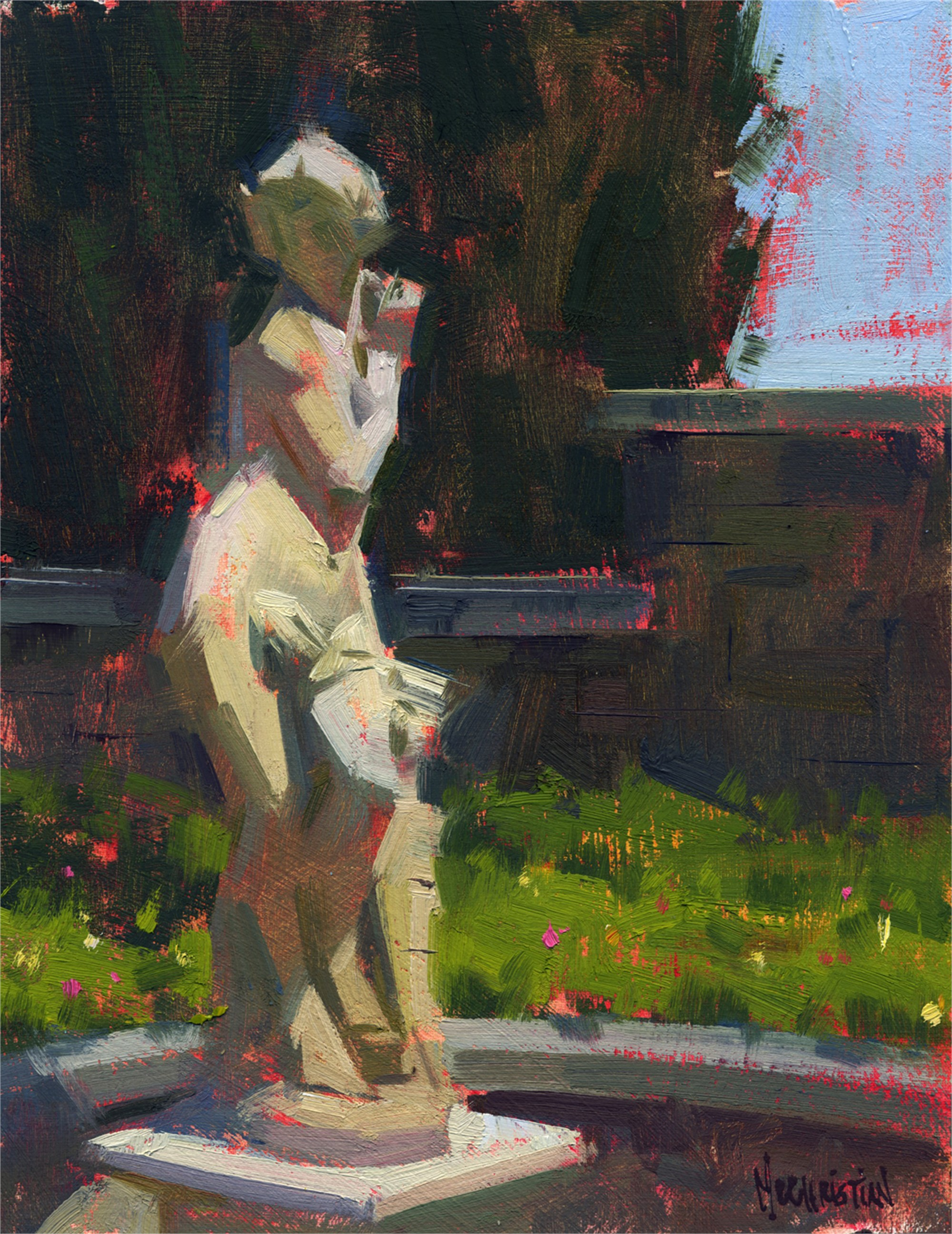 Demure Damsel by Jennifer McChristian