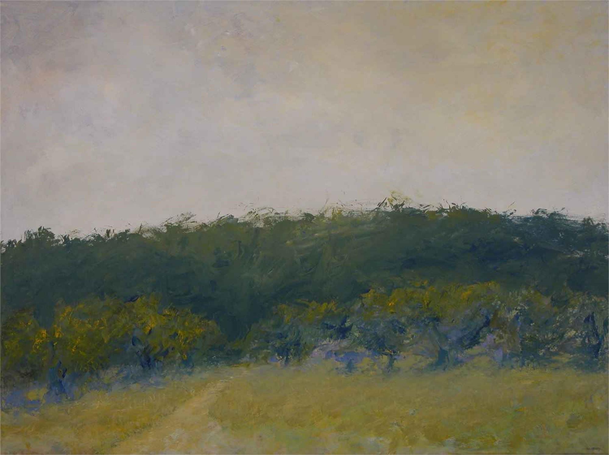 Summer Orchard by John Gaitenby