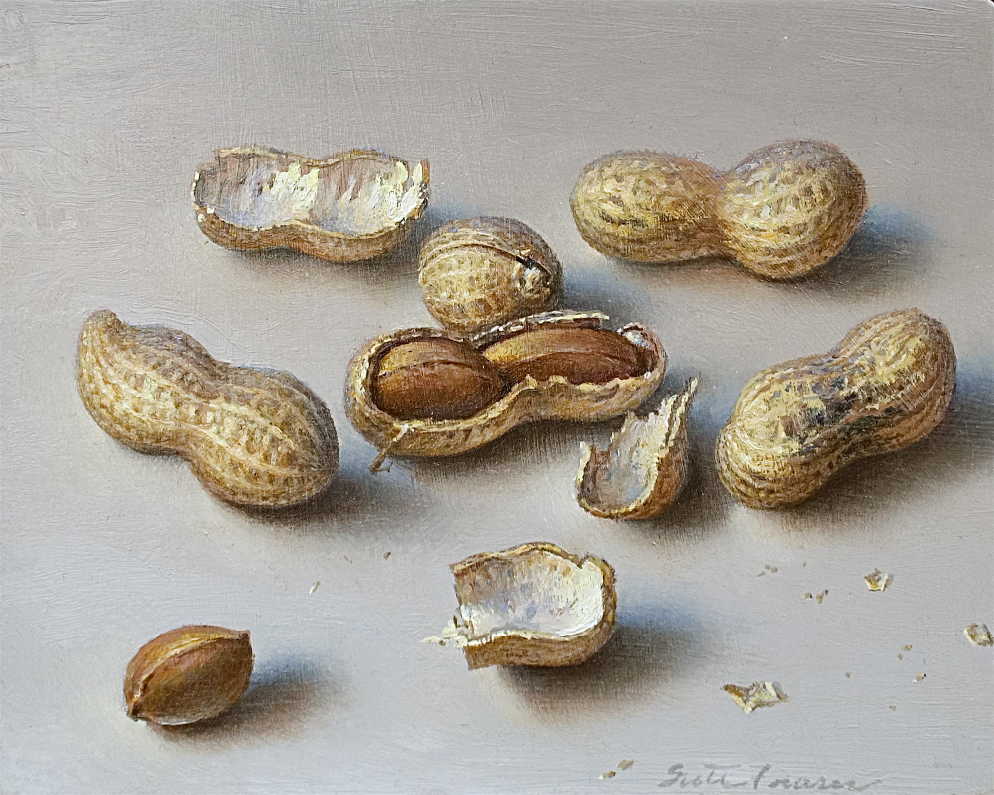 Light Peanuts by Scott Fraser
