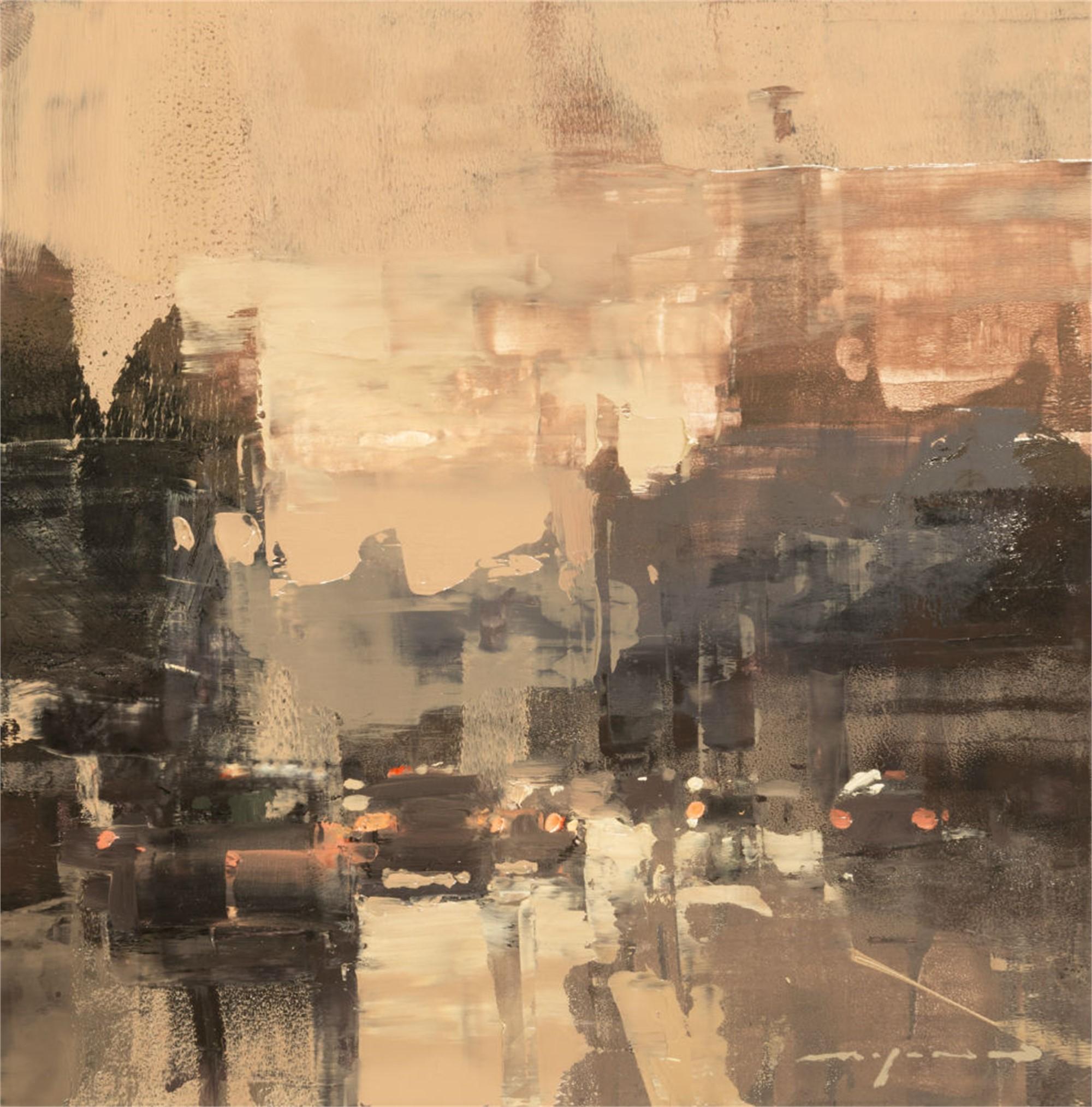 Cityscape - Composed Form Study no. 23 by Jeremy Mann