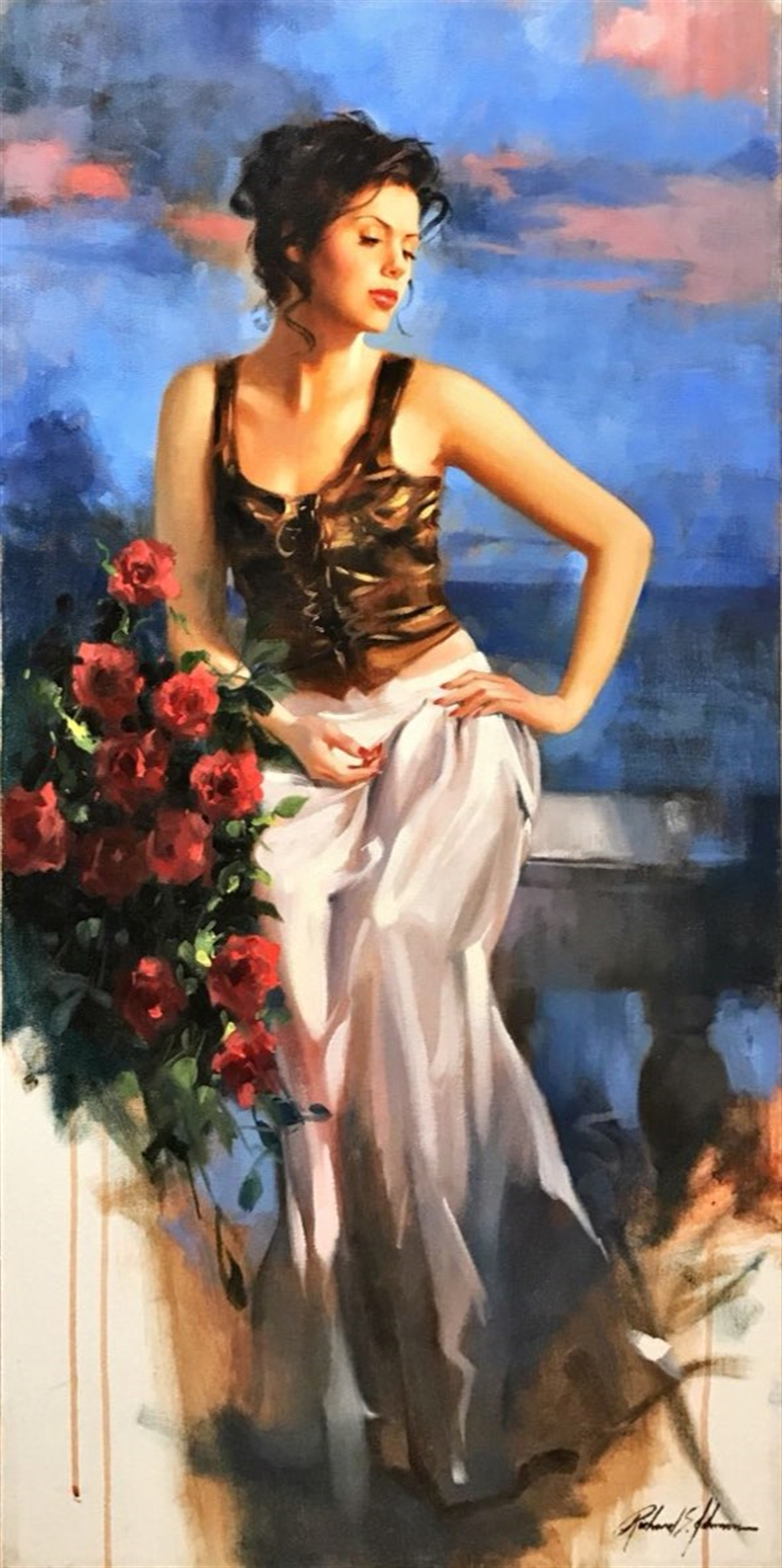 Bella Rosa by Richard Johnson