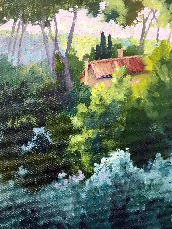Light Through the Trees, 2017 by Nancy Paris Pruden