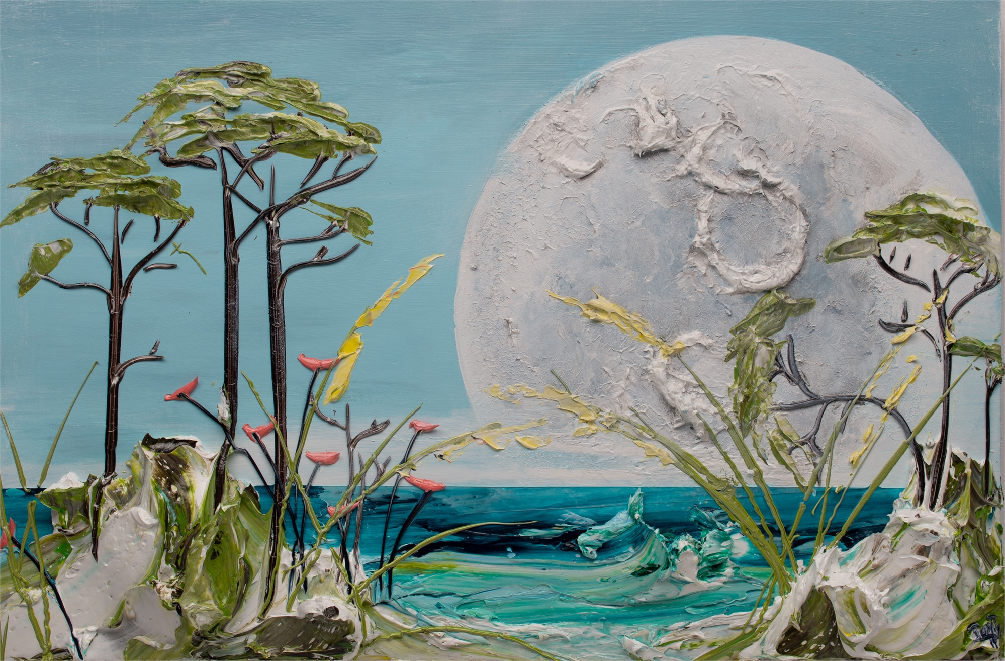 MOONSCAPE -MS-36X24-2019-236 by JUSTIN GAFFREY