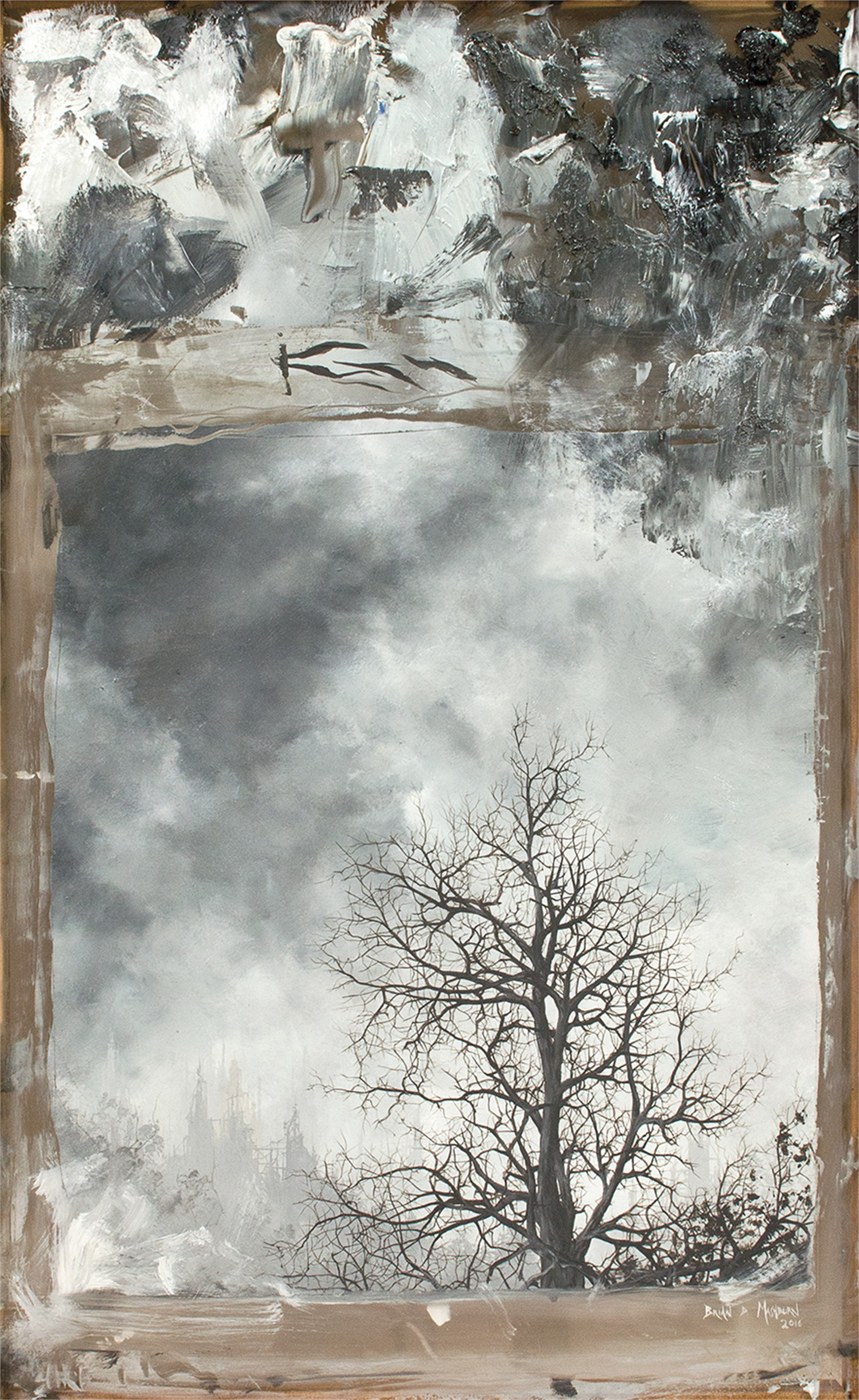Oak in Winter by Brian Mashburn
