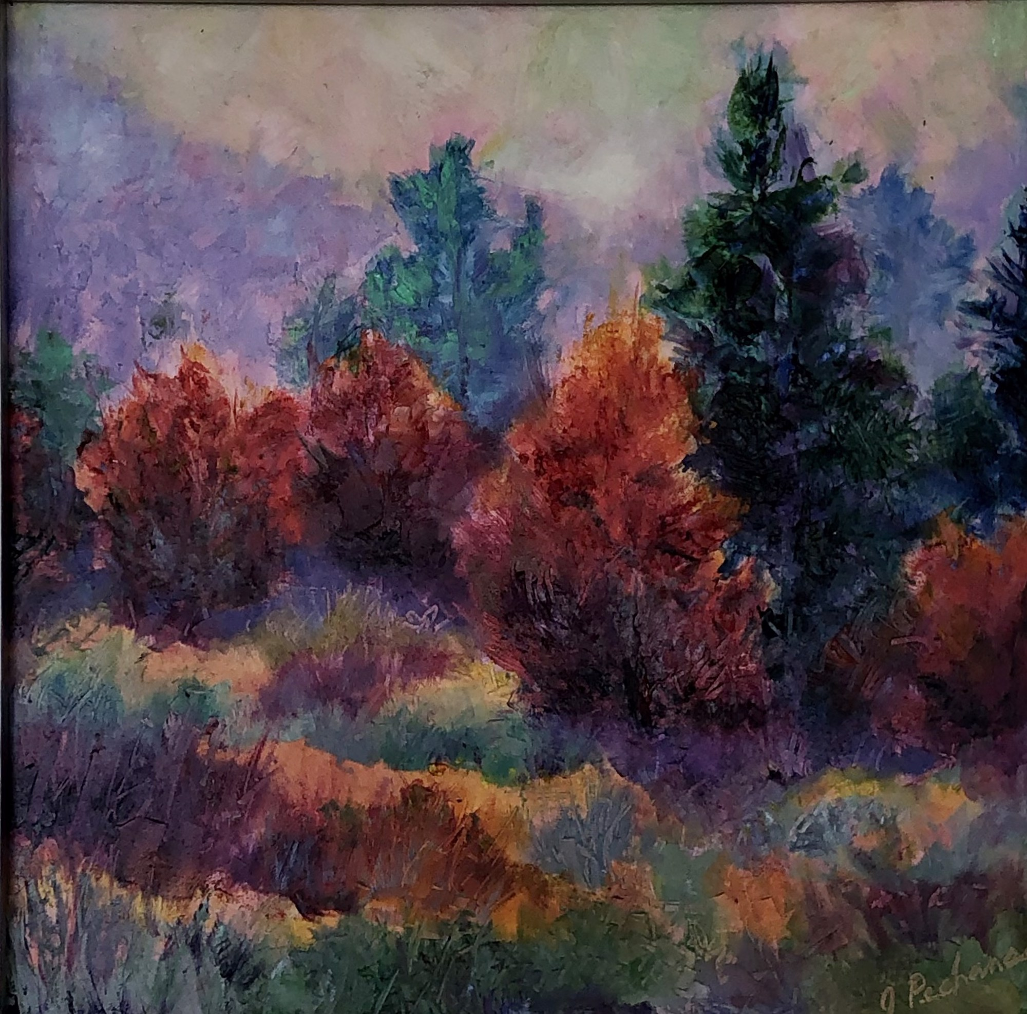 Autumn Color by Joan Pechanec (McMinnville, OR)
