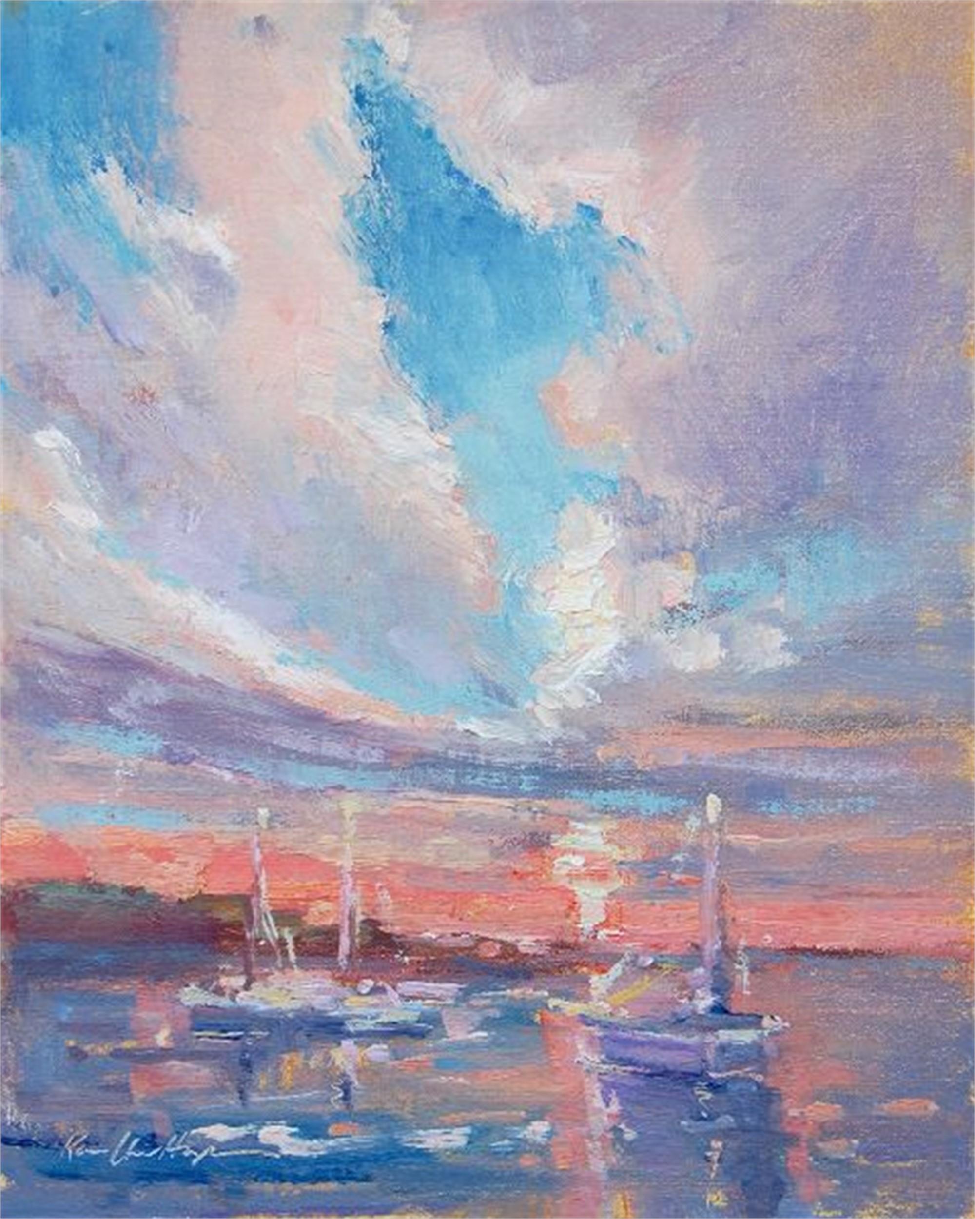 Charlerston Harbor by Karen Hewitt Hagan