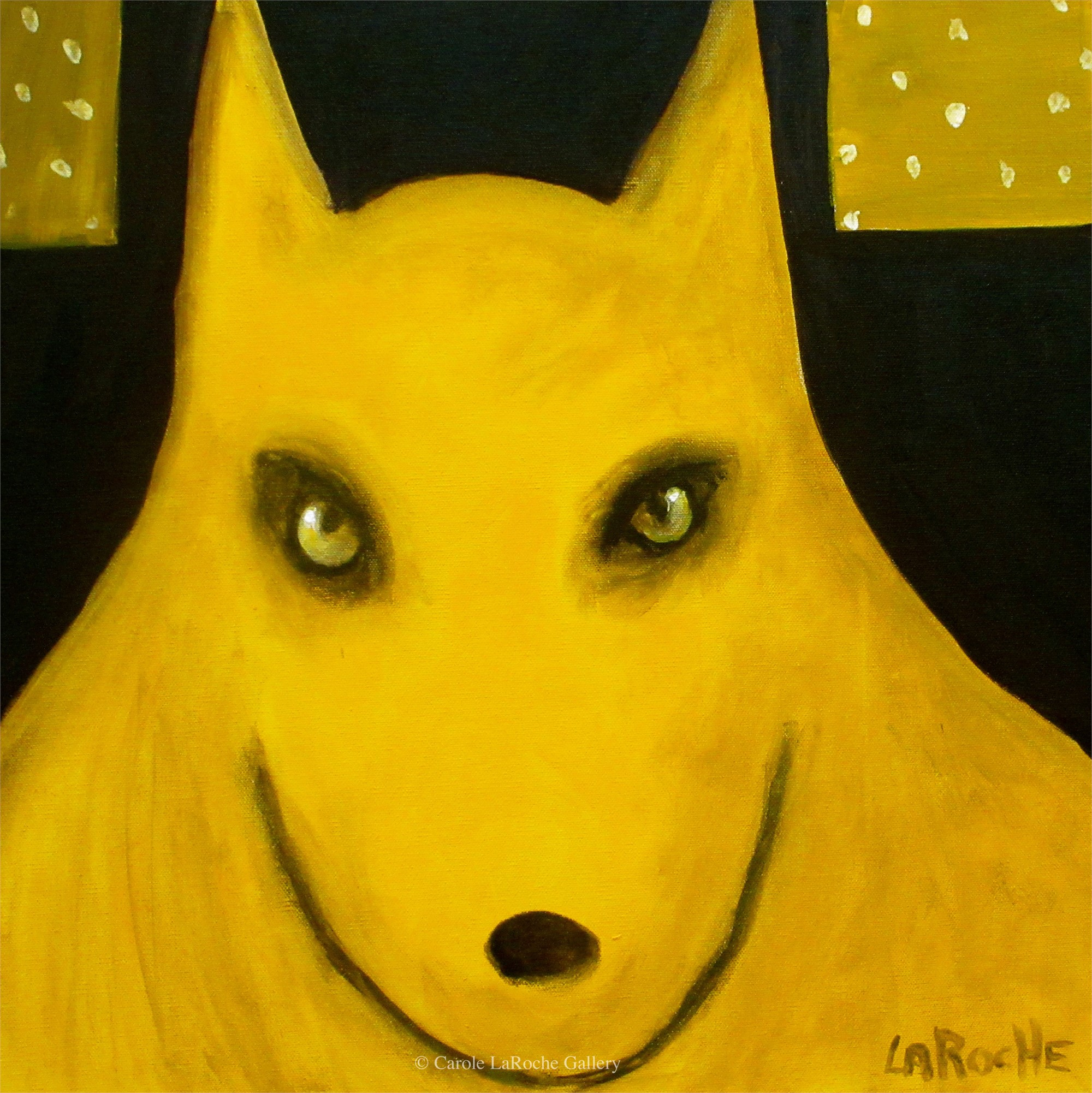 YELLOW SPRING WOLF by Carole LaRoche
