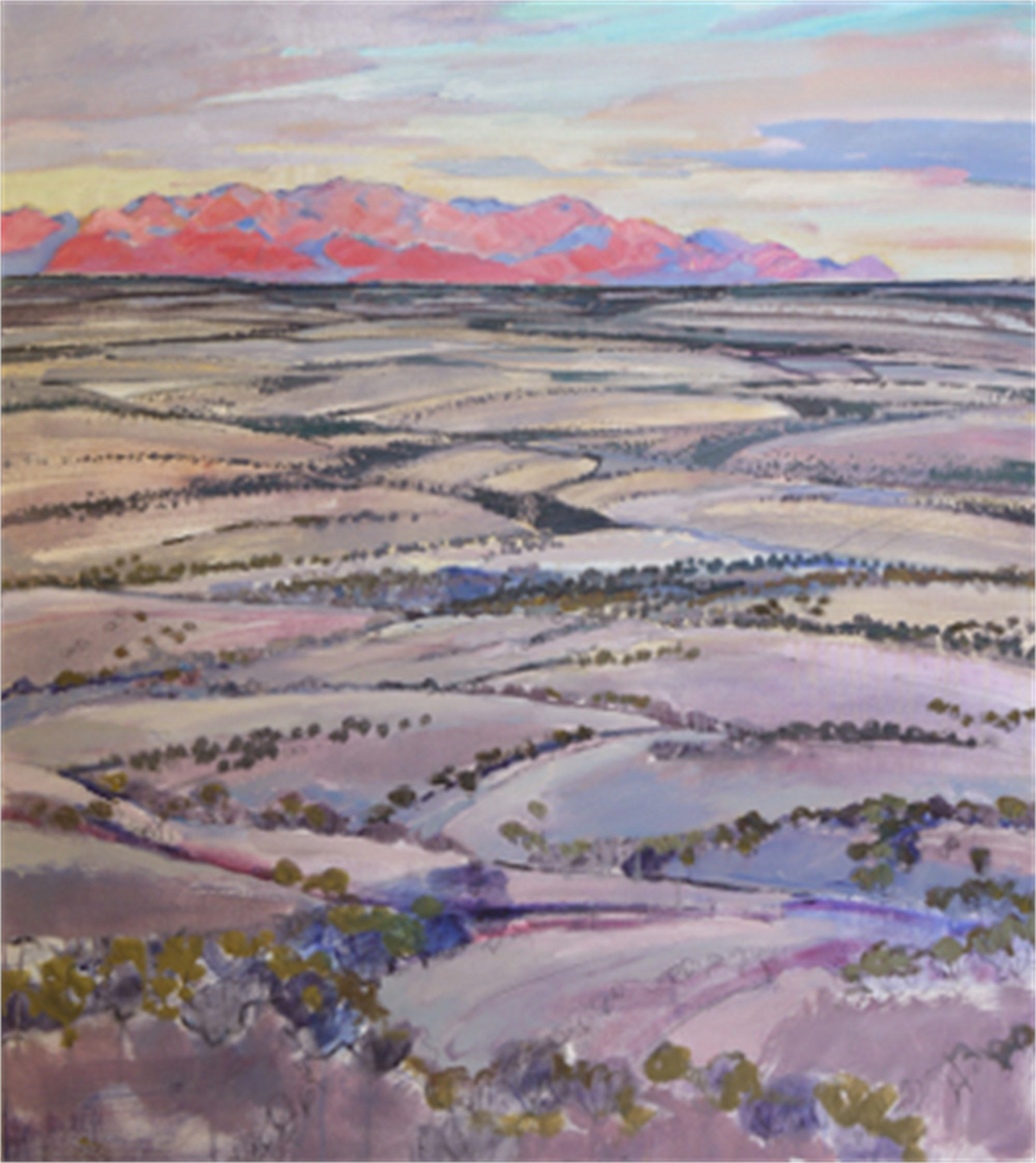 Distant Mountains (Chisos) by Mary Baxter