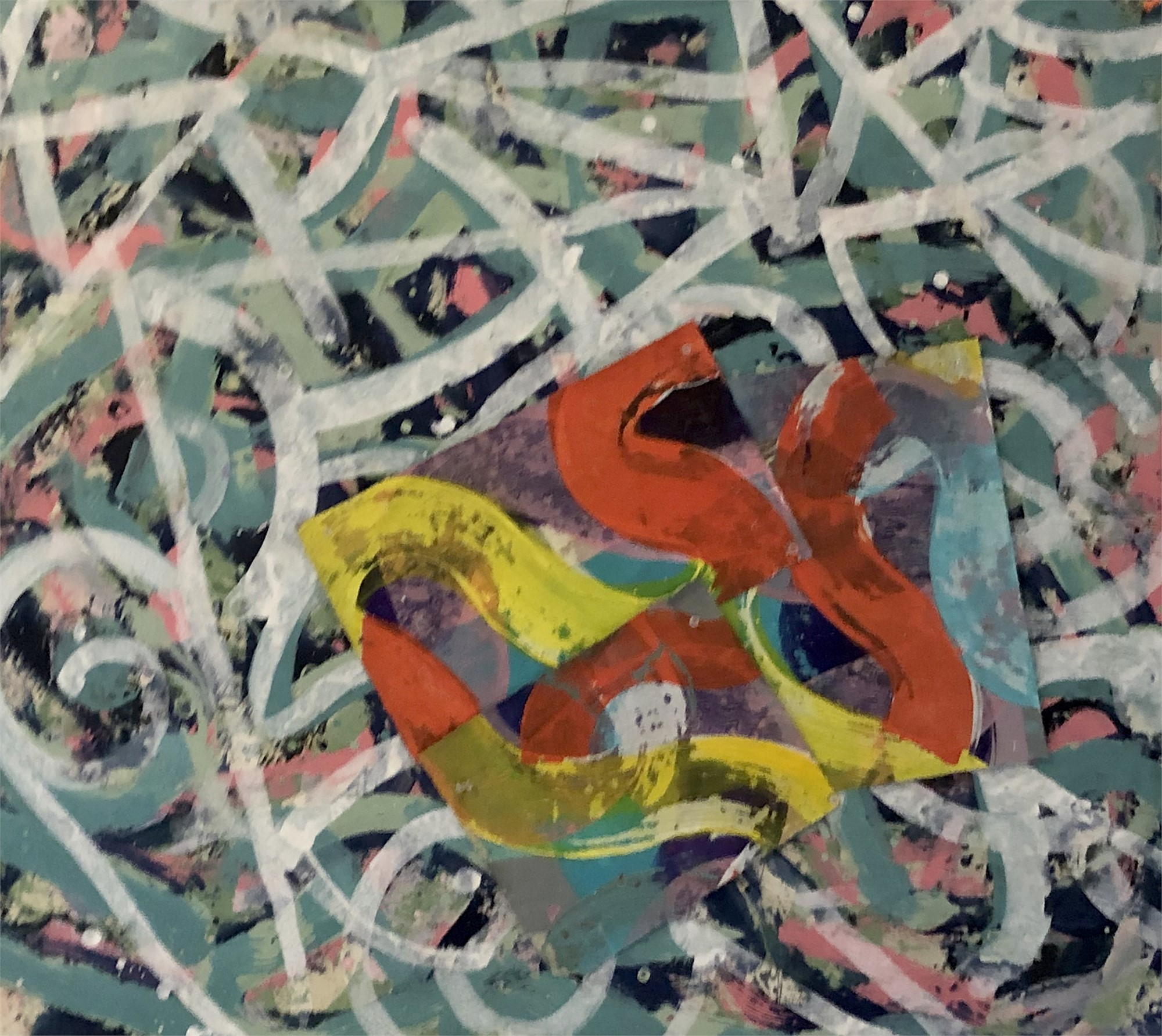 Orange Trembling by Ibsen Espada