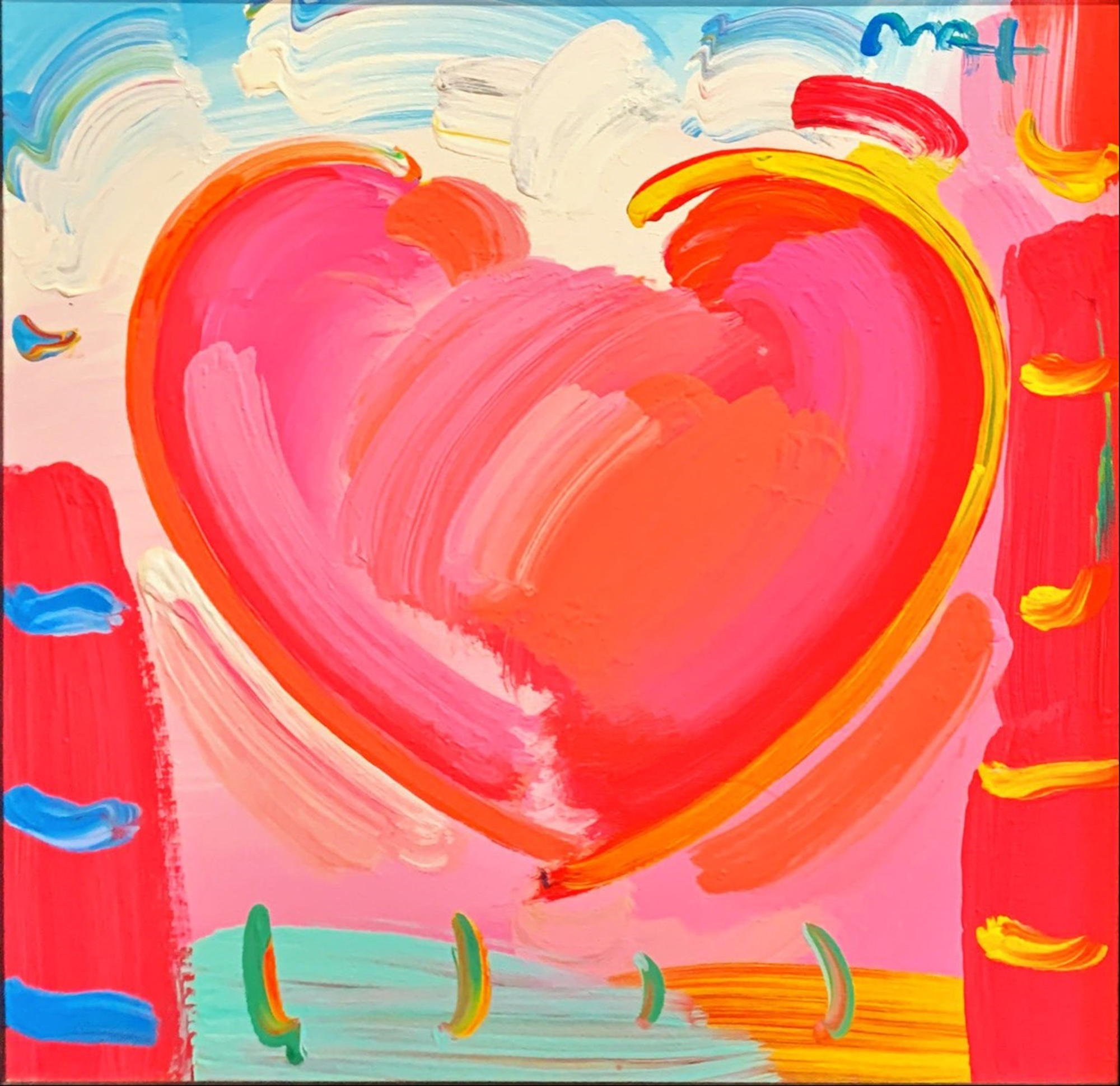 No Title by Peter Max
