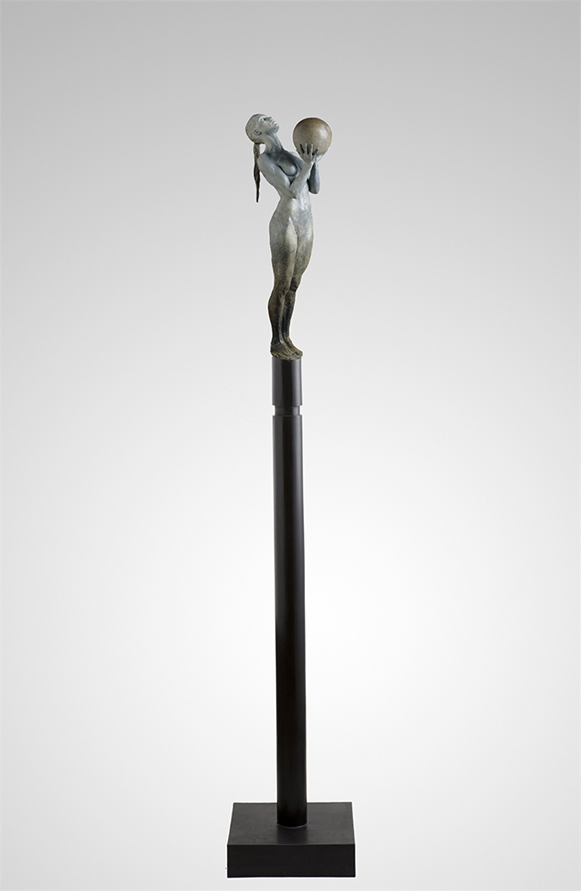 Birth (maquette), Column by Paige Bradley
